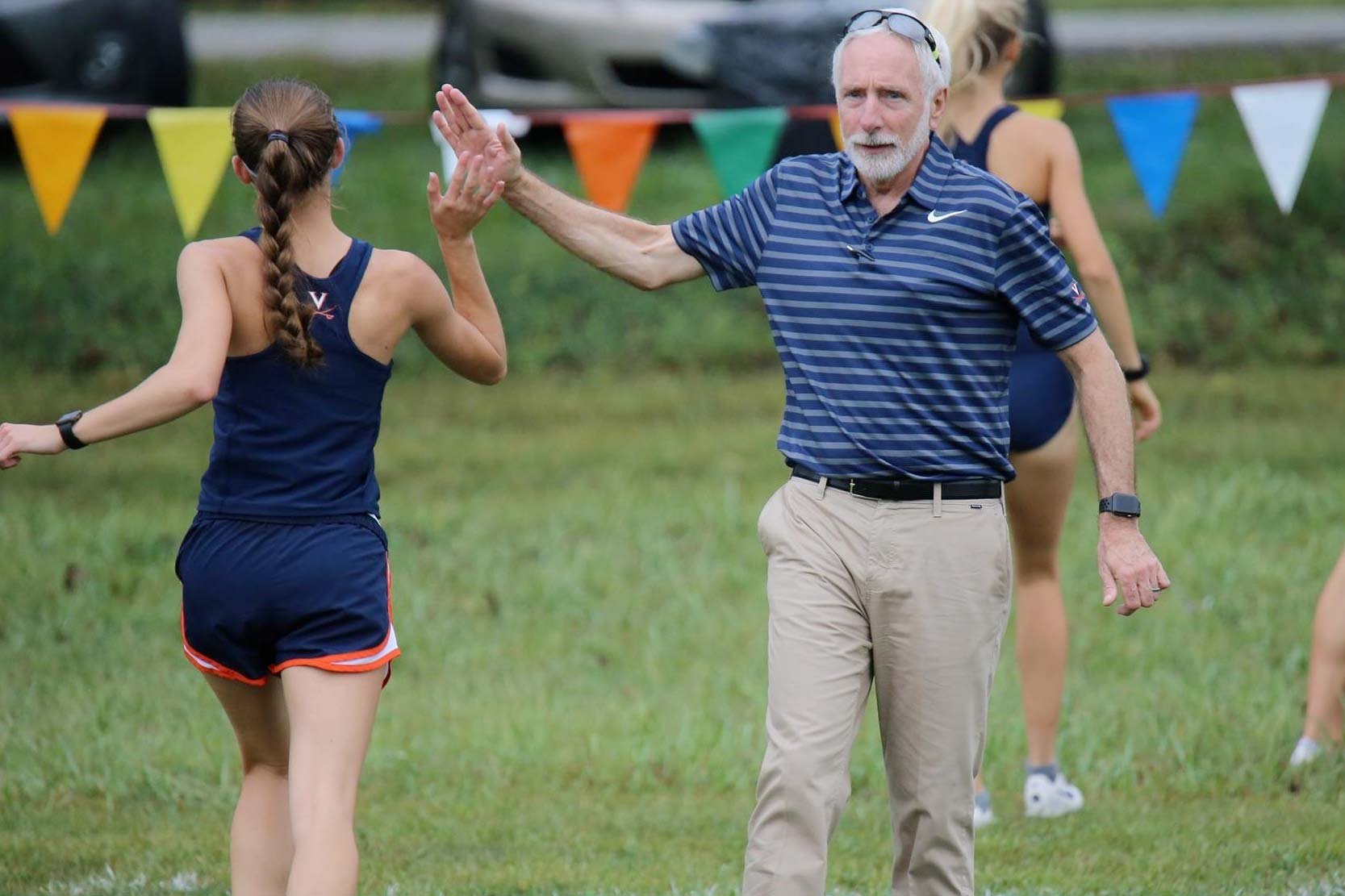 """Vin Lananna said he is """"100 percent"""" confident that UVA can be a national power in track and field and cross-country. (Photo courtesy UVA Athletics)"""