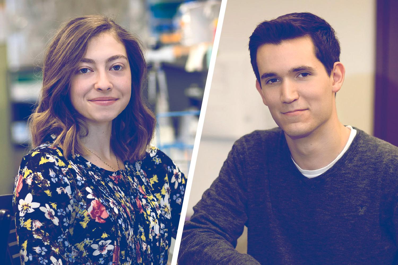 Undergraduate Duo Nab Major Science Research Awards