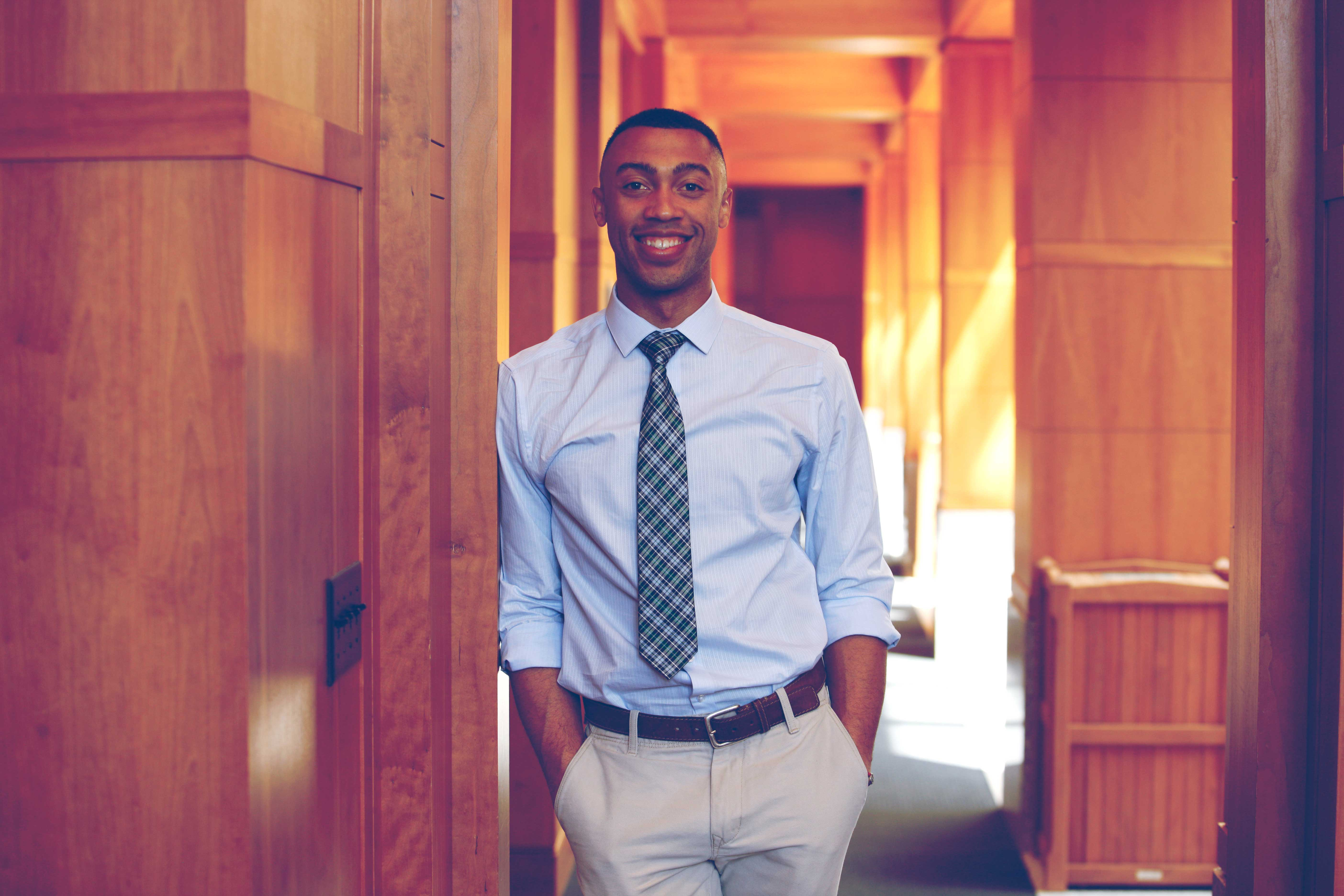 Zachary Ray plans to clerk for two federal judges after graduation, but ultimately has his sights set on trial advocacy.