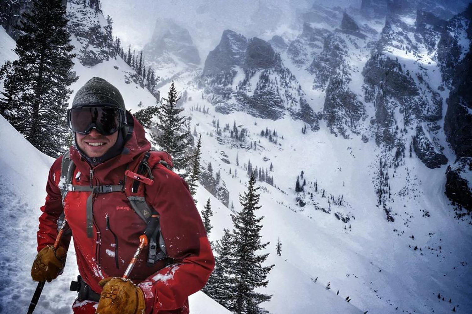"""When my own Alpine ski racing career came to an end after college, I wanted to give back to the sport that had given me so much,"" Zach Kuster said."
