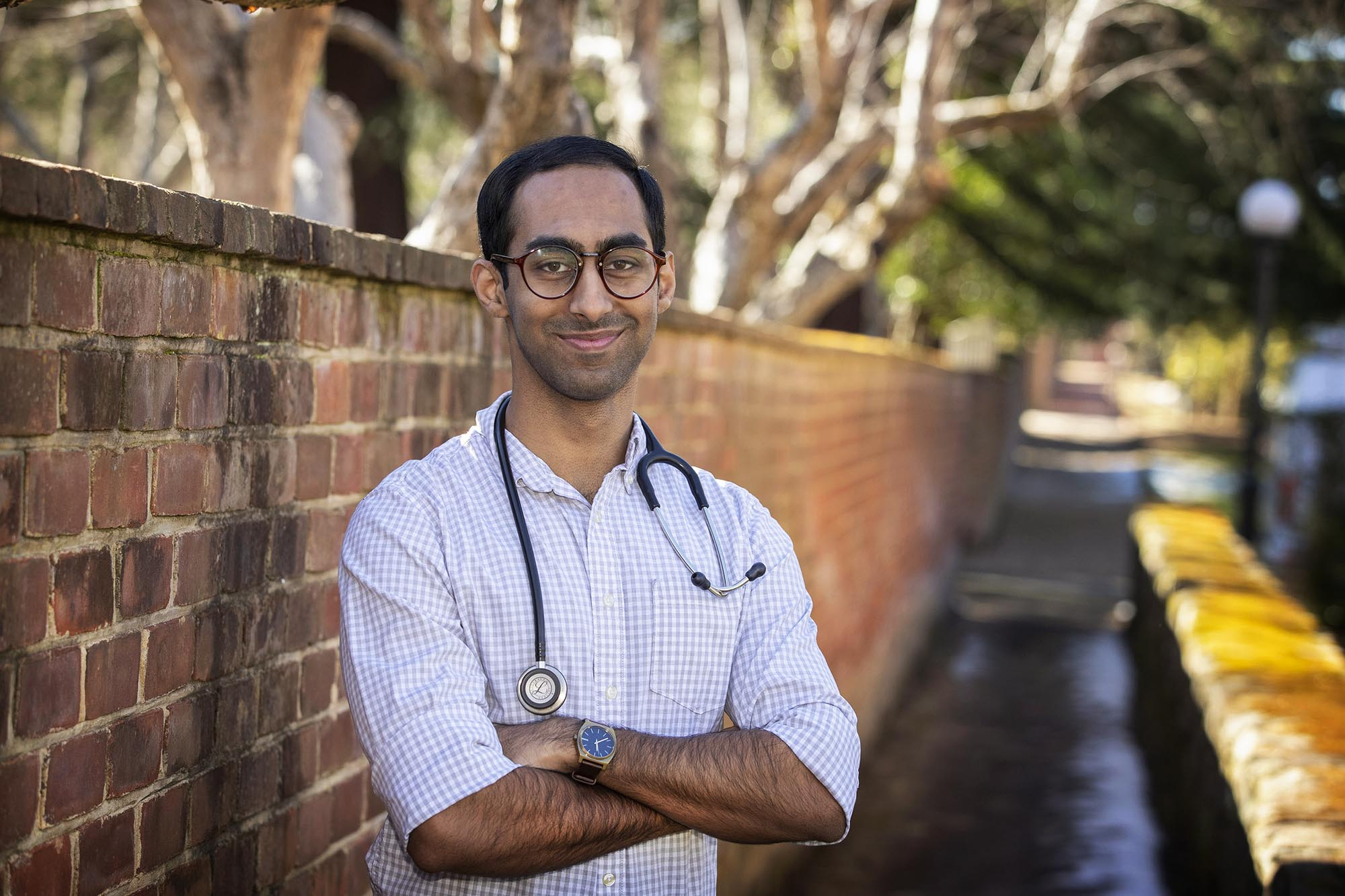 Have Computer, Will Volunteer: Med Student's Telehealth Initiative Uses Clinton Grant