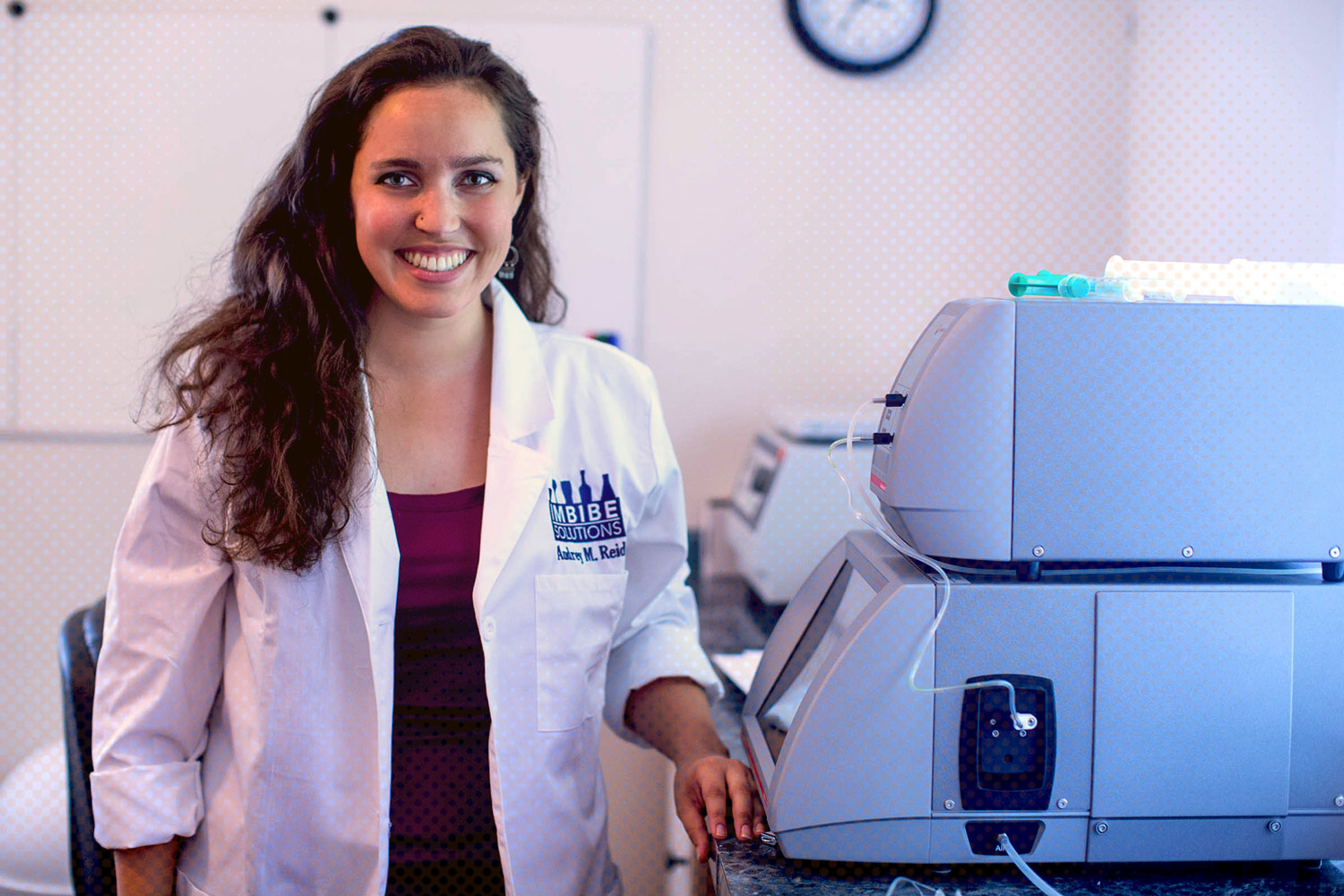 UVA's i.Lab incubator has given a boost to Audrey Reid, who in turn is supporting the area's surging adult beverage-making industry