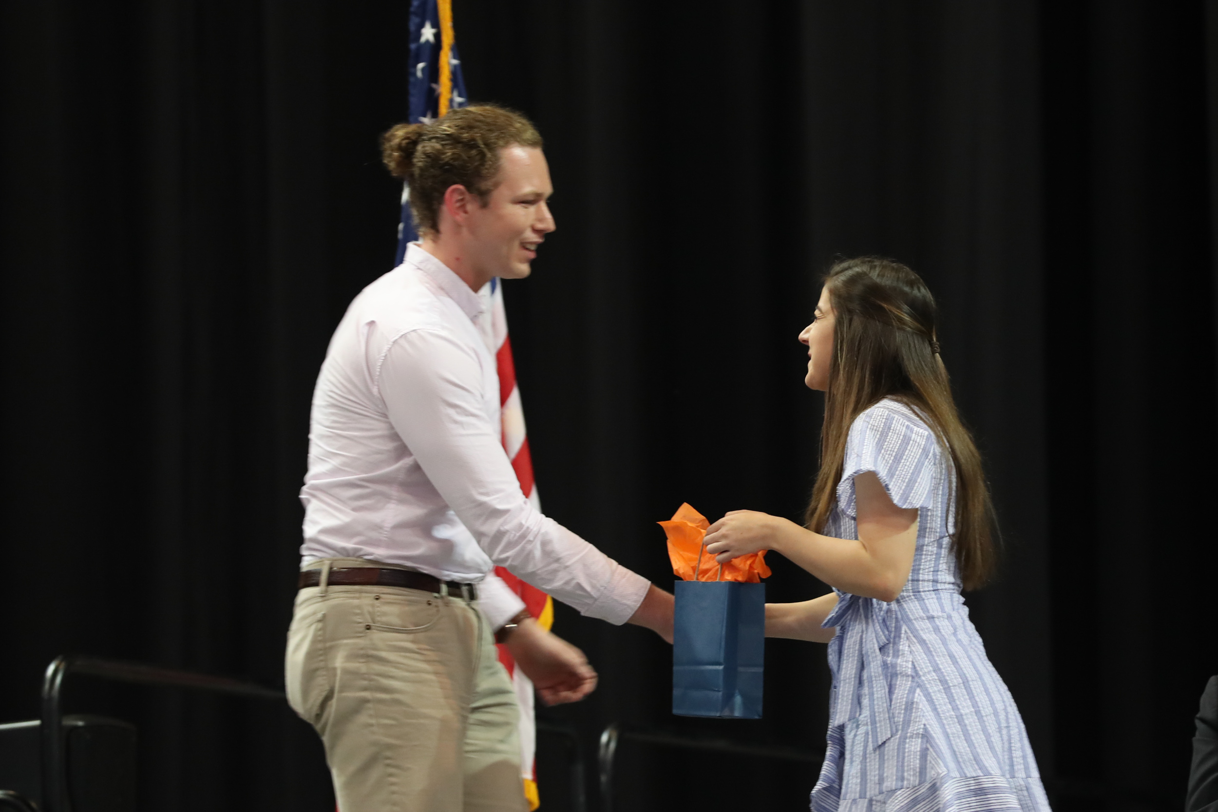 The Bicentennial Leadership Award went to Austin Widner, a double major in environmental thought and practice and environmental sciences.