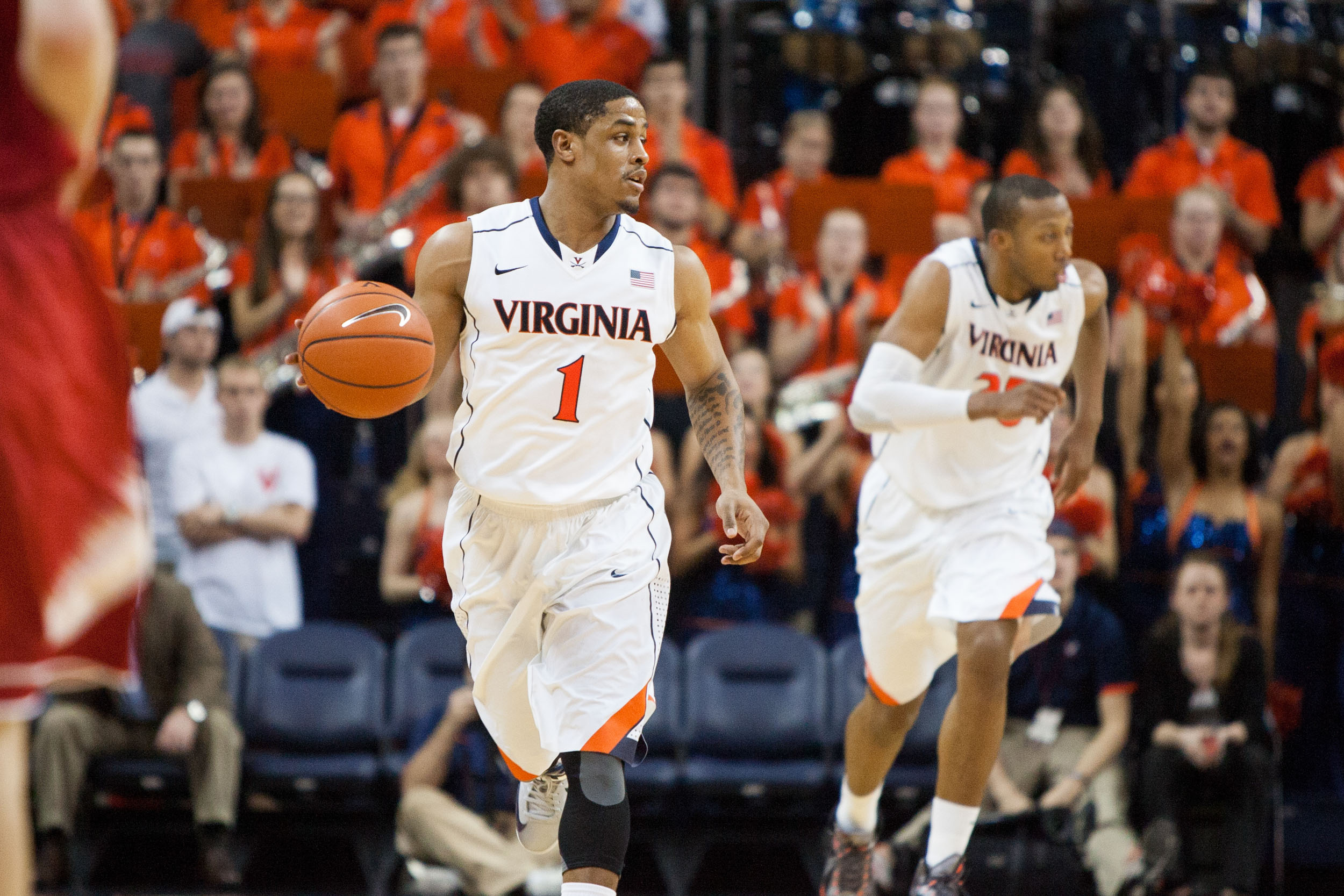 Evans, who had a solid four-year career at UVA, ranks ninth on the all-time assists list.