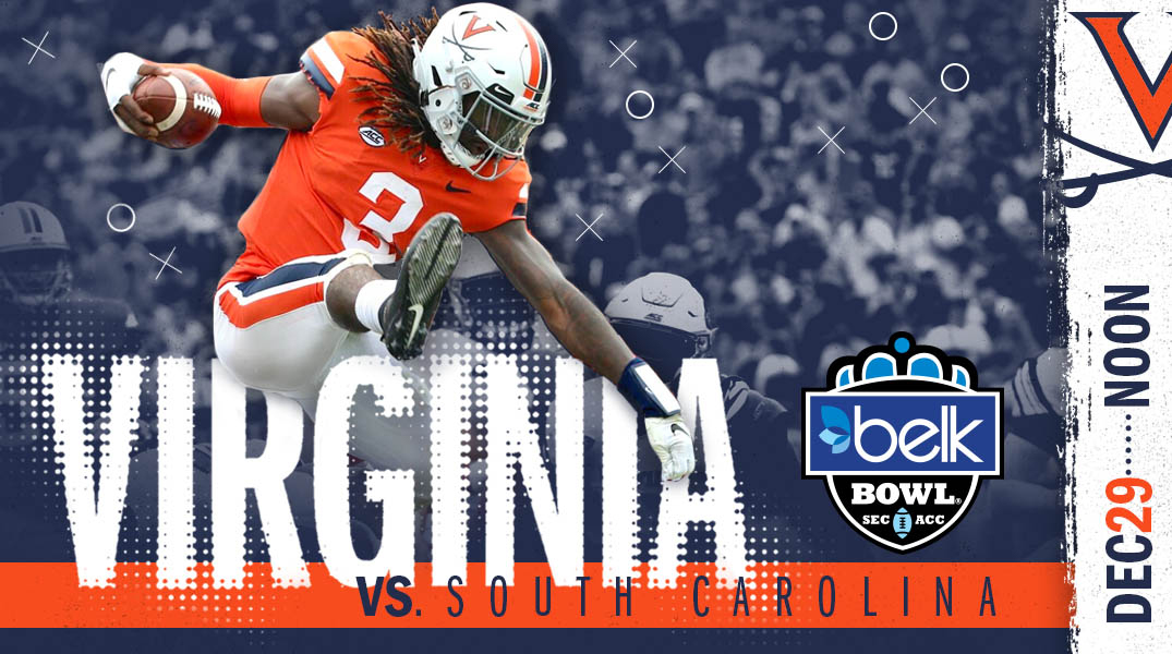 Virginia Vs. South Caroline, Belt Bowl, SEC ACC, Dec. 29, Noon