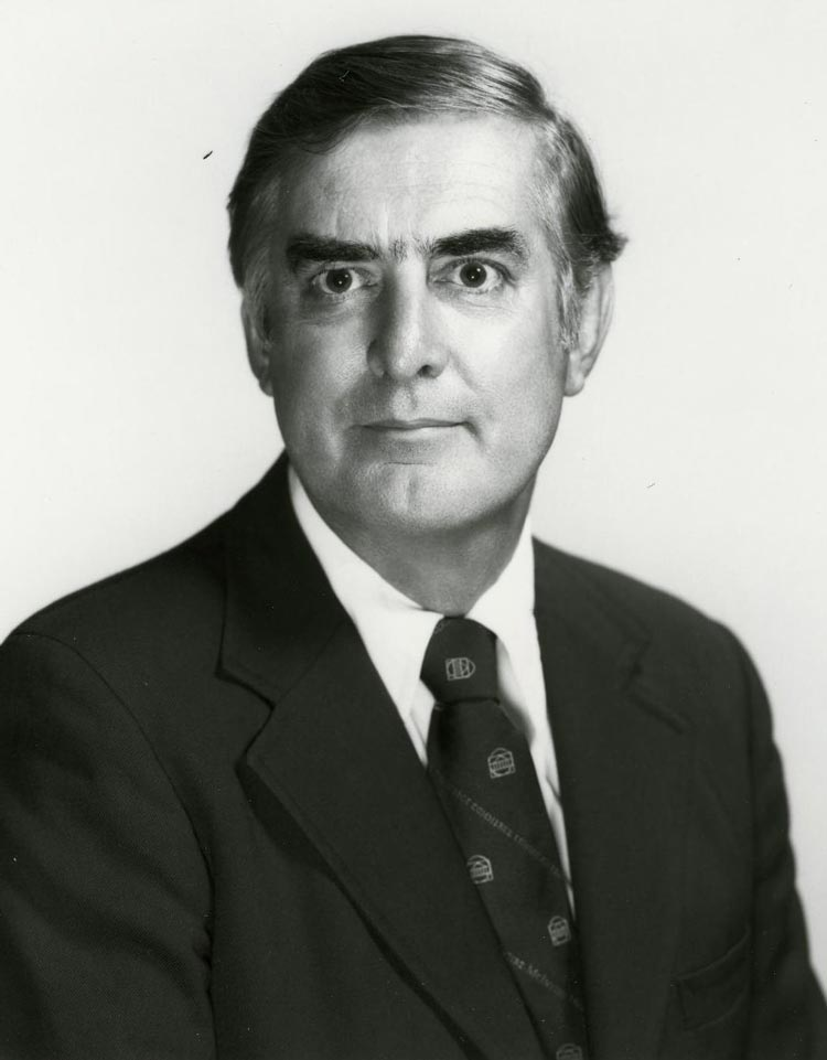 Bernie Morin taught at the McIntire School of Commerce for 34 years before retiring in 1998.