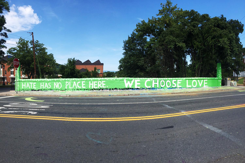 Beta Bridge: Hate Has No Place Here, We Choose Love