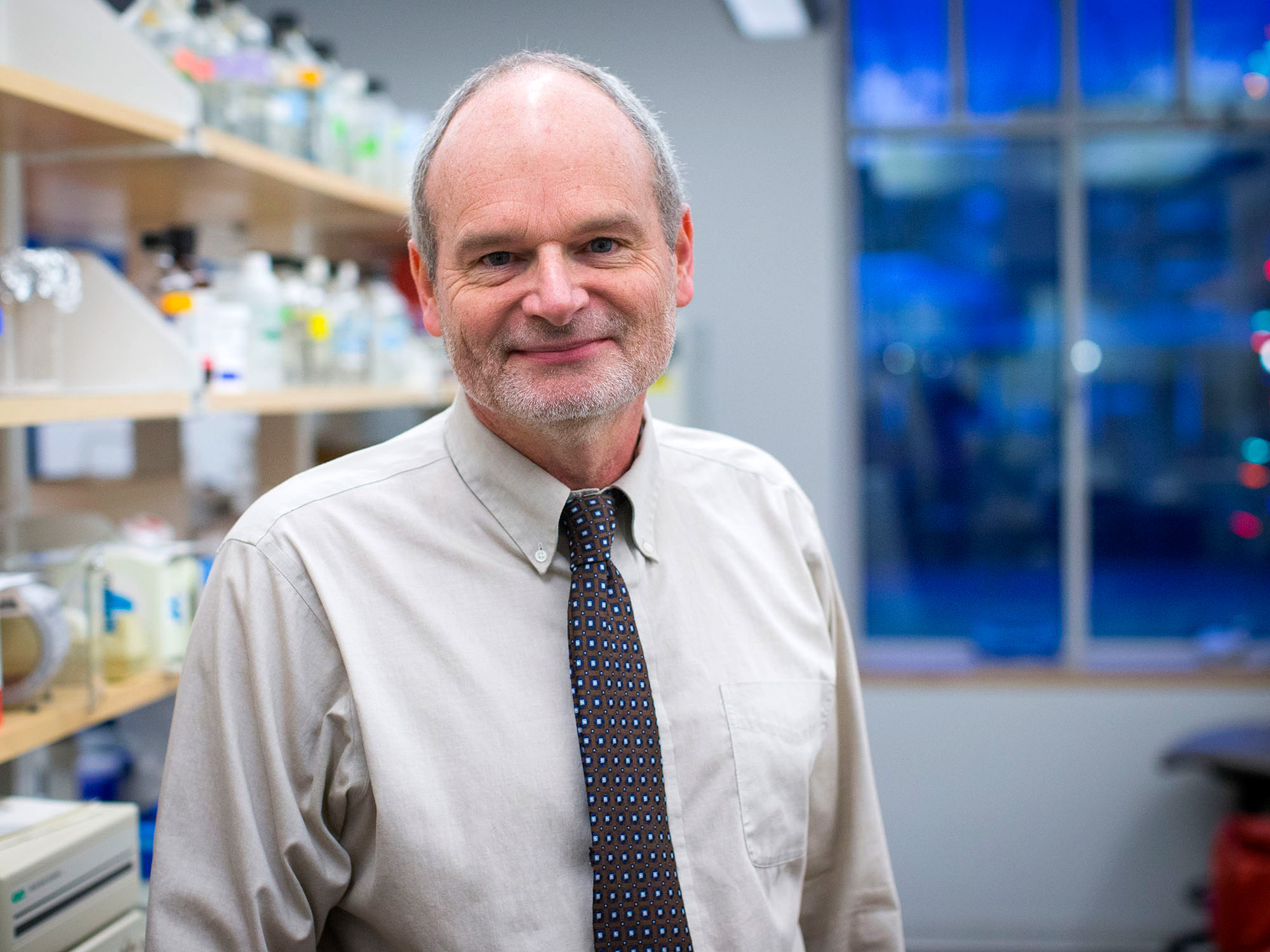 Dr. William A. Petri (Photo by Sanjay Suchak, University Communications)