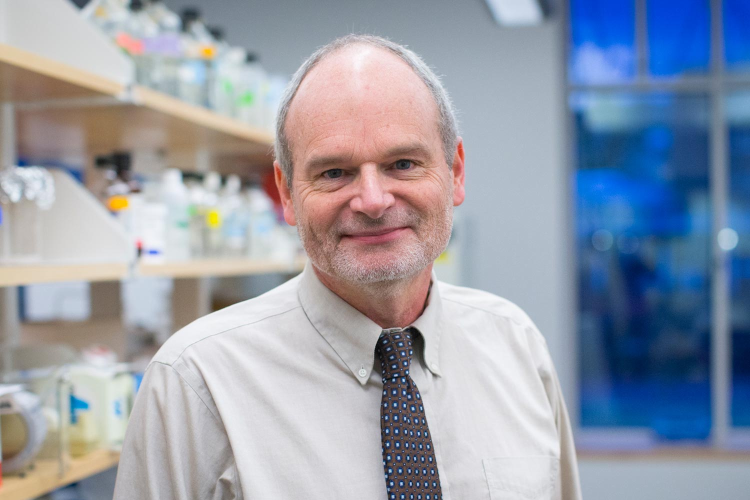 Dr. Bill Petri is chief of UVA's Division of Infectious Diseases. (Photo by Sanjay Suchak, University Communications)