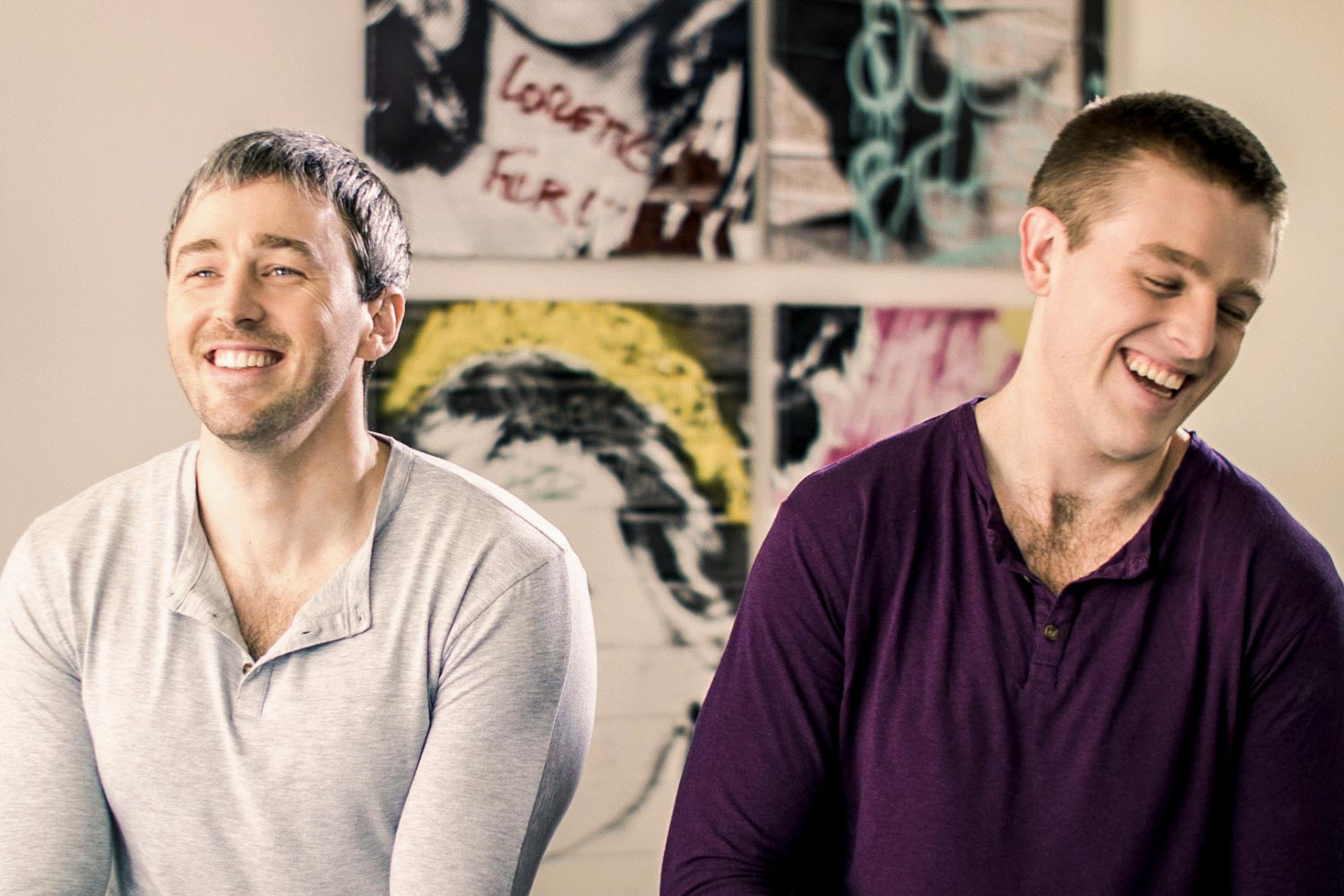 UVA alumni Bradford (left) and Bryan Manning were featured in the first episode of Facebook's new podcast, produced by fellow alumnus Matt Sutton.
