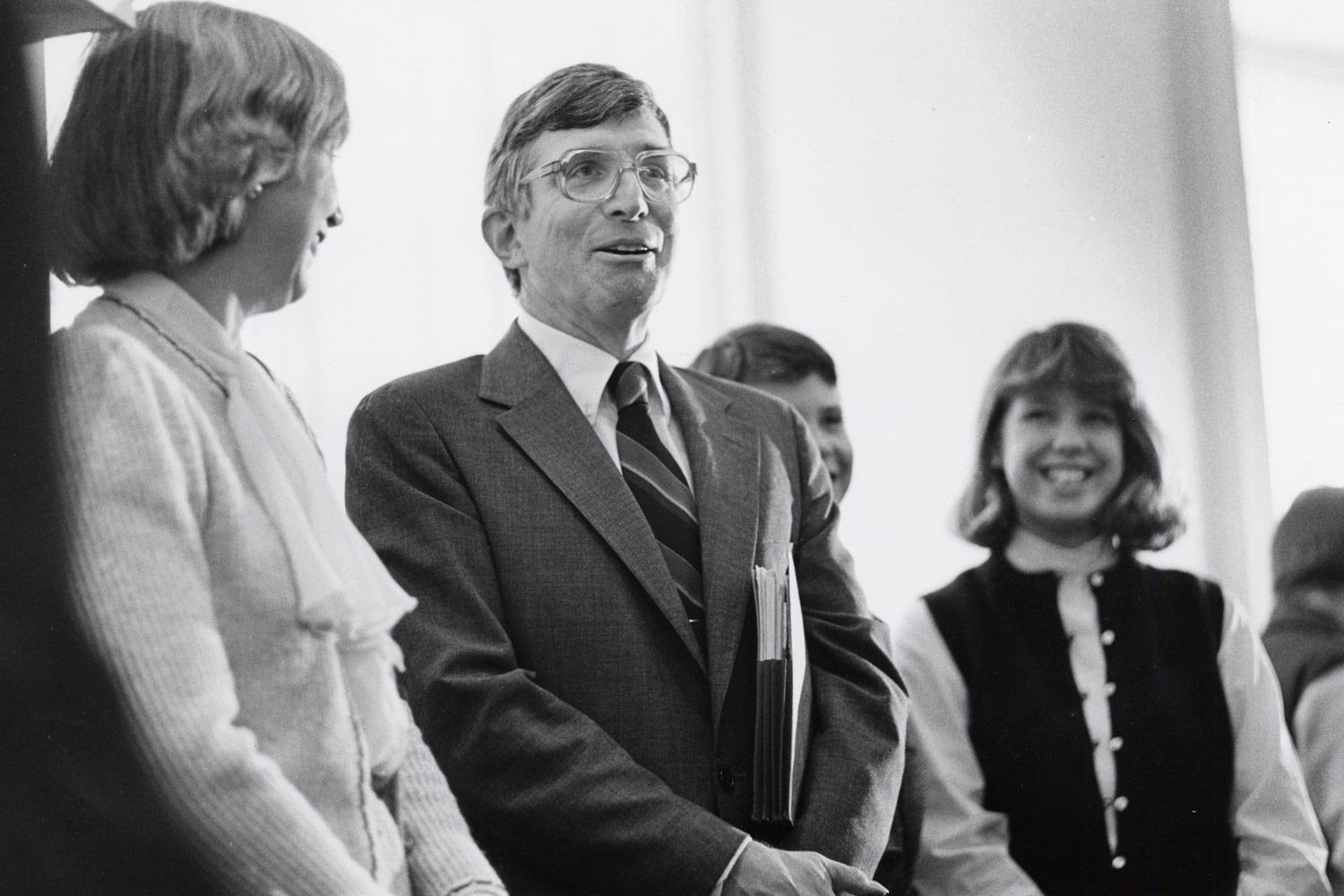 As president, O'Neil focused on extending UVA's opportunities to students of all backgrounds. (UVA Law Library)