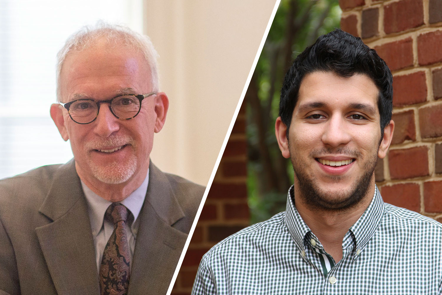 A study by Curry School Dean Robert Pianta, left, and research assistant professor Arya Ansari was the most-read of 2018.