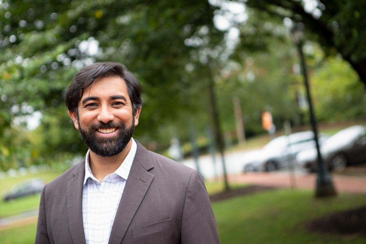 "Bidhan ""Bobby"" Parmar is the Shannon Smith Emerging Scholar in Business and an associate professor of business administration at UVA's Darden School of Business."