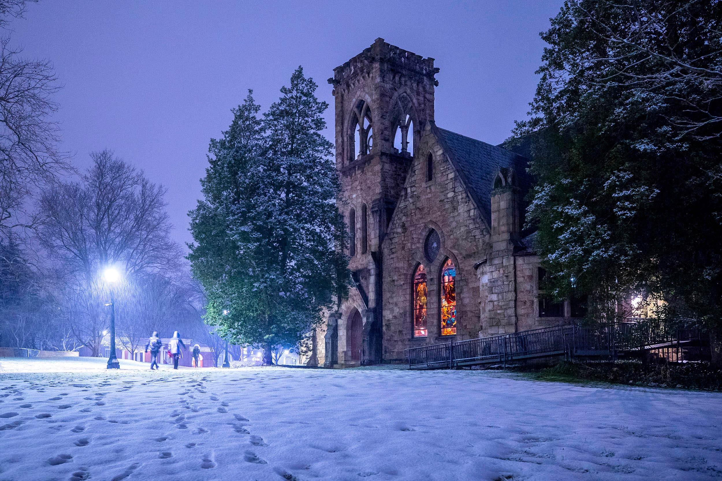 The Bigger Picture: A Snowy Sanctuary