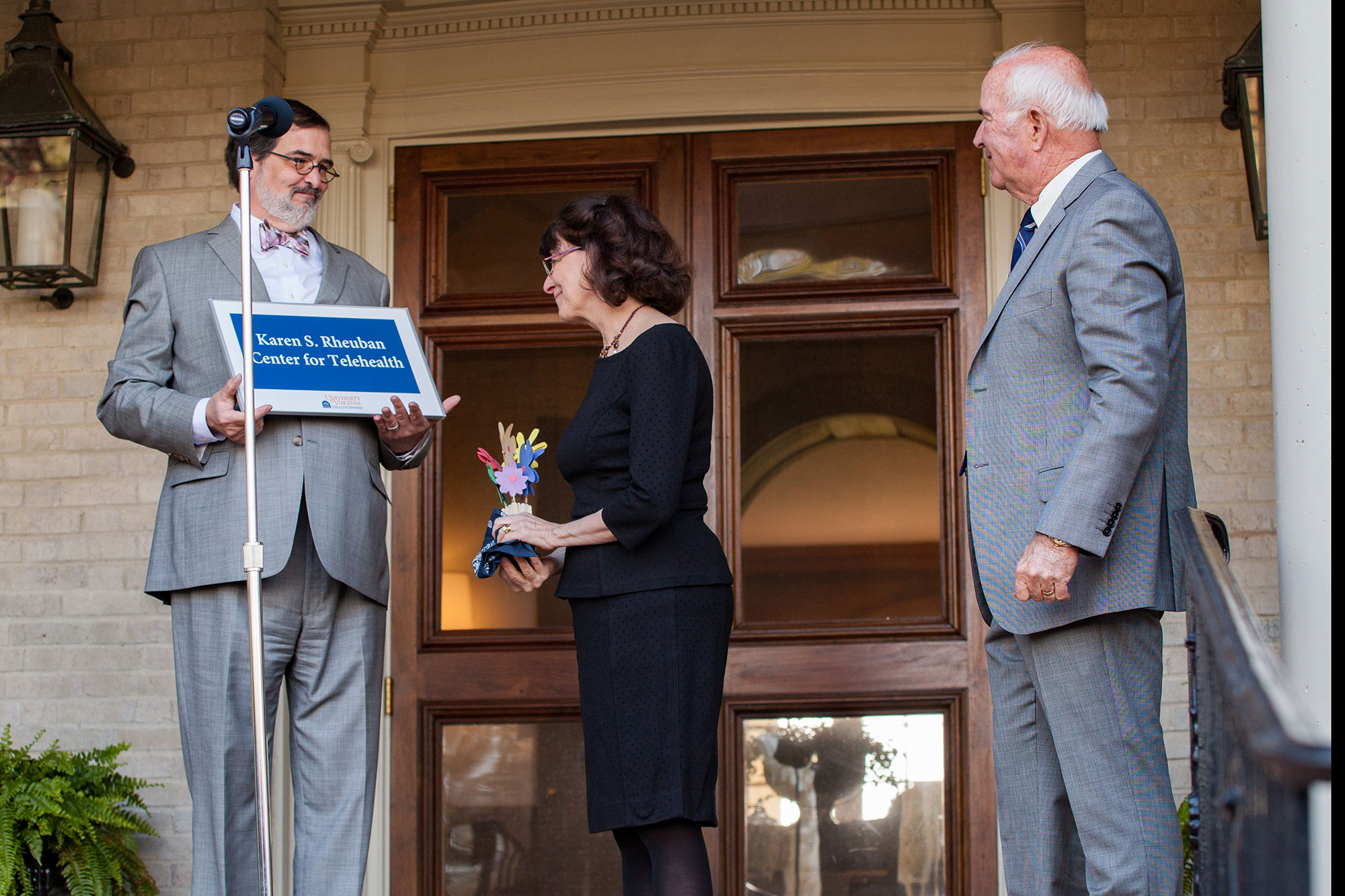 The UVA Health System celebrated telemedicine pioneer Karen S. Rheuban by naming its Center for Telehealth in her honor.