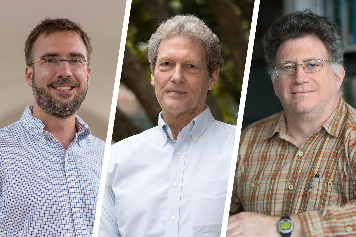 Huish's associate Appalachian Prosperity Project fellows, chemical engineer Bryan Berger, biologist Mike Timko and environmental scientist Manuel Lerdau.