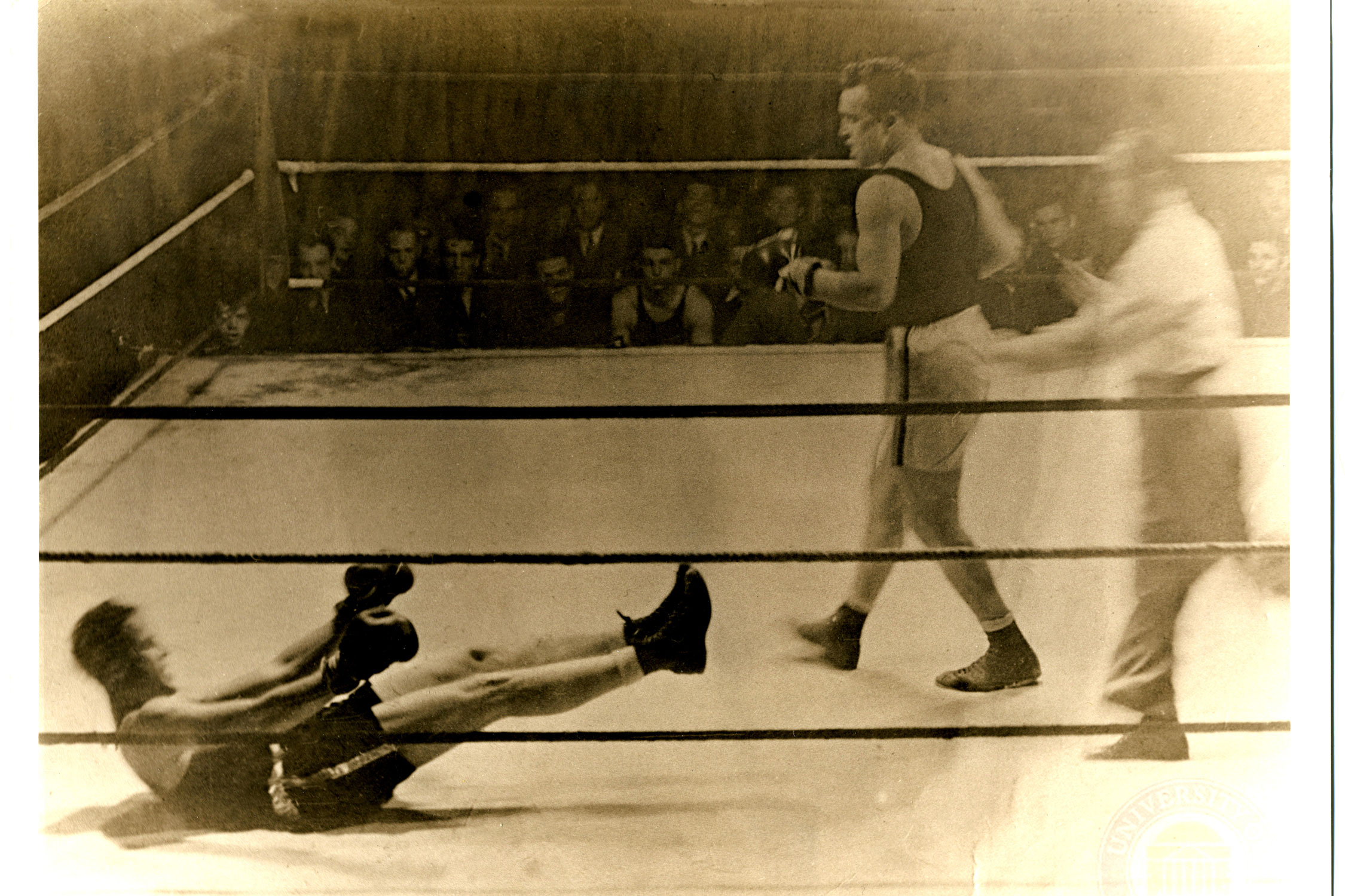 Caplin, a double 'Hoo, was an intercollegiate boxer during his undergraduate years at UVA, and also dabbled in acting.