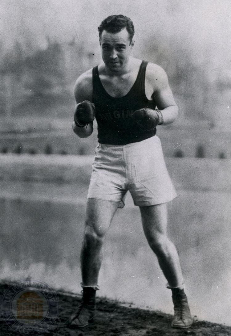 Caplin boxed as an undergraduate at the University of Virginia.