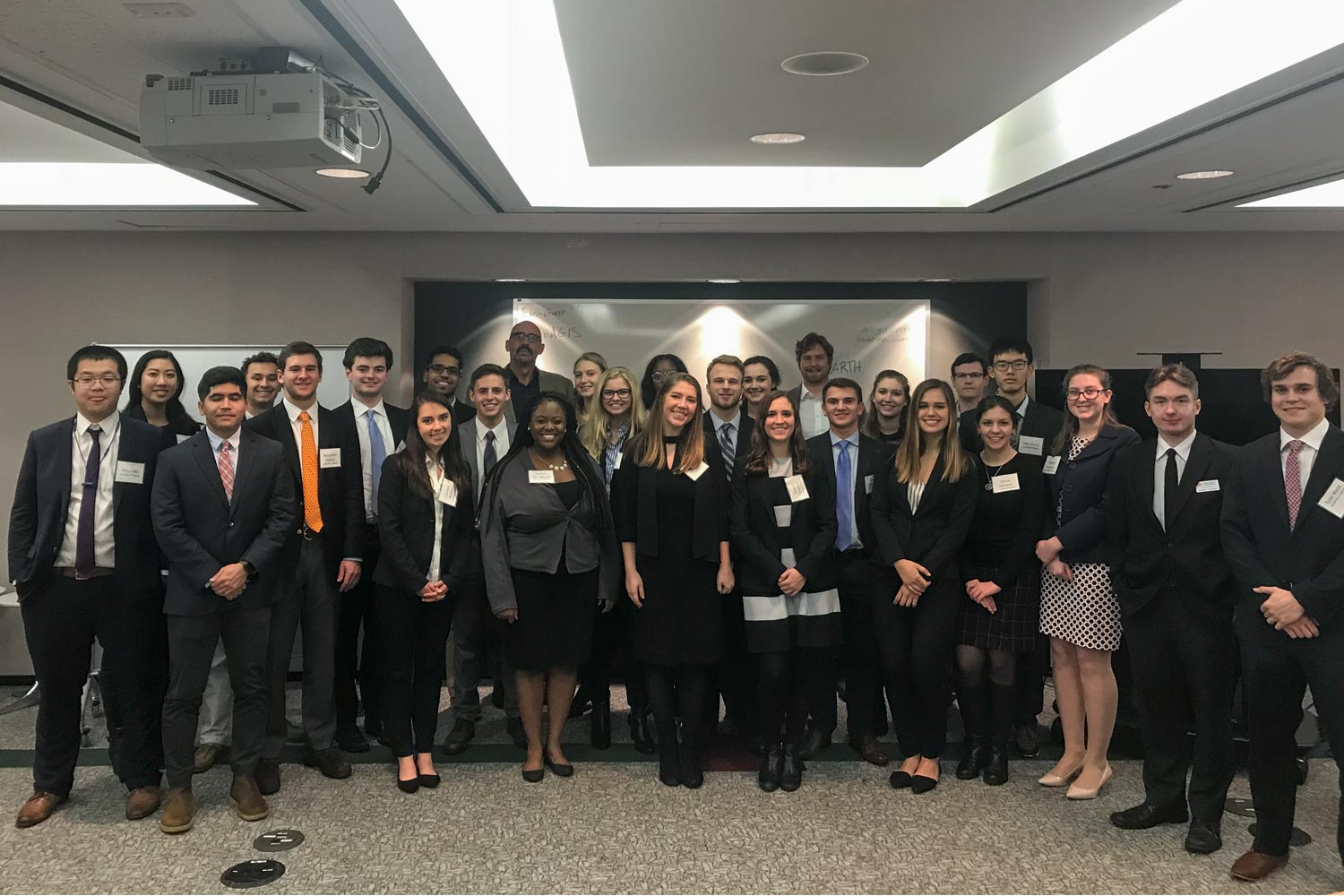 Students enrolled in the UVA Career Center's Washington, D.C. lab spent their January term visiting companies in the nation's capital and learning from them in the classroom.