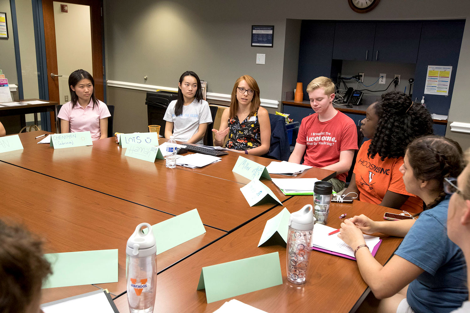 First- and second-year students participating in Career Exploration Workshops spend one hour per week for four weeks reflecting on potential major and career choices.