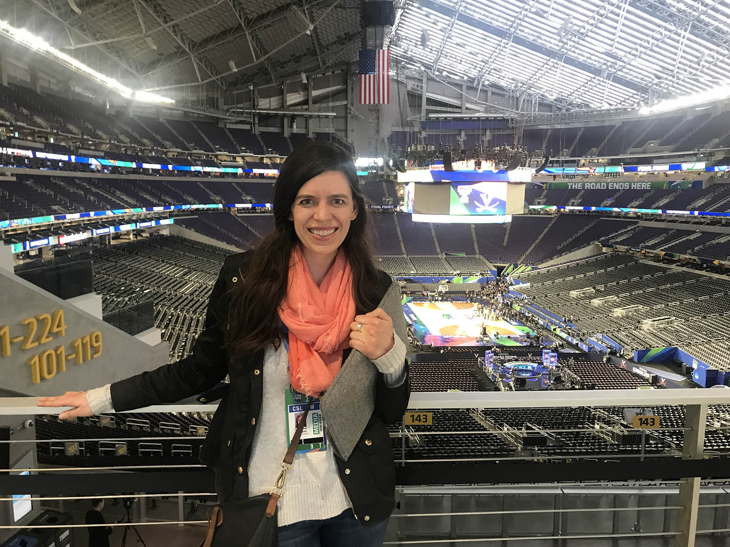 Newman, a UVA alumna who never envisioned herself as a sports writer, nonetheless managed to cover both the Final Four and the Orange Bowl in a magical year for Cavalier athletics.