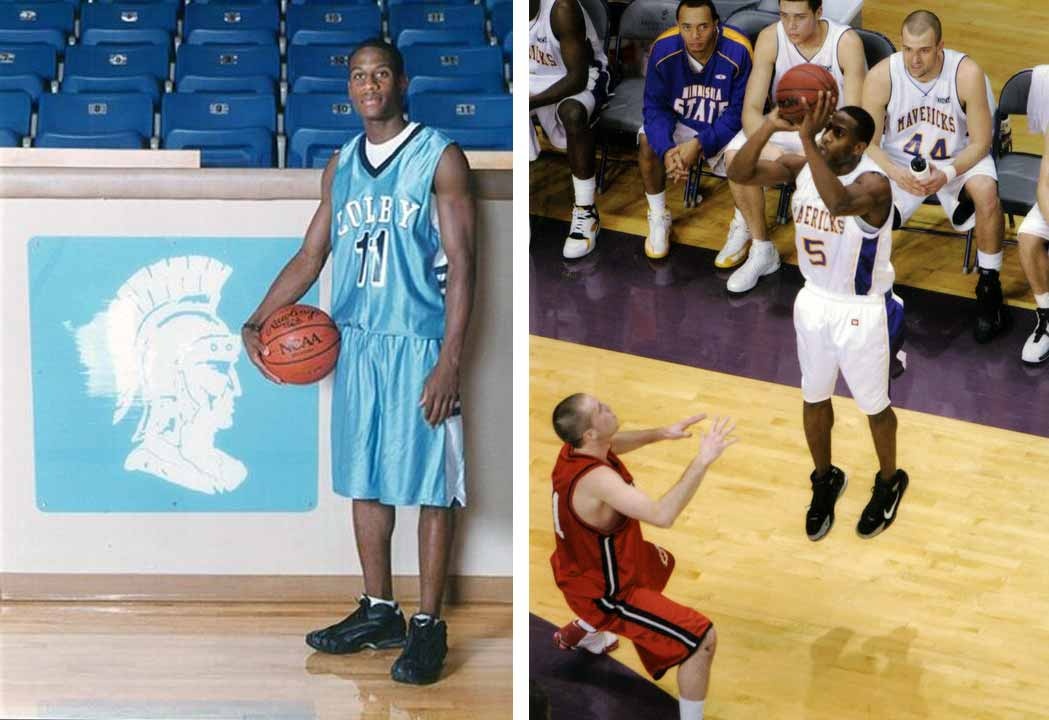 Joseph Williams played basketball at Colby Community College before going on to play at Minnesota State University.