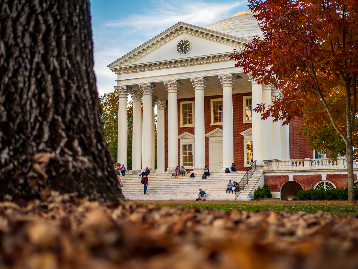 Third-year student Charles Fang submitted his photo of the Rotunda as part of the fall photo contest.