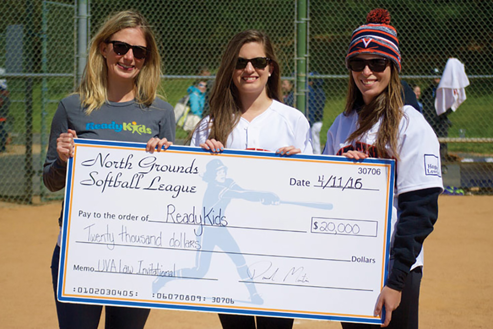 The softball invitational became a charitable event in 1997. Last year, NGSL donated $20,000 to local nonprofit ReadyKids and $5,000 to the Public Interest Law Association to fund students' summer jobs in public service.