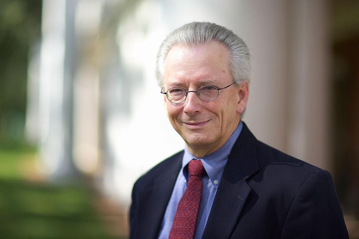 James Childress, University Professor, Hollingsworth Professor of Ethics, and professor of religious studies at UVA