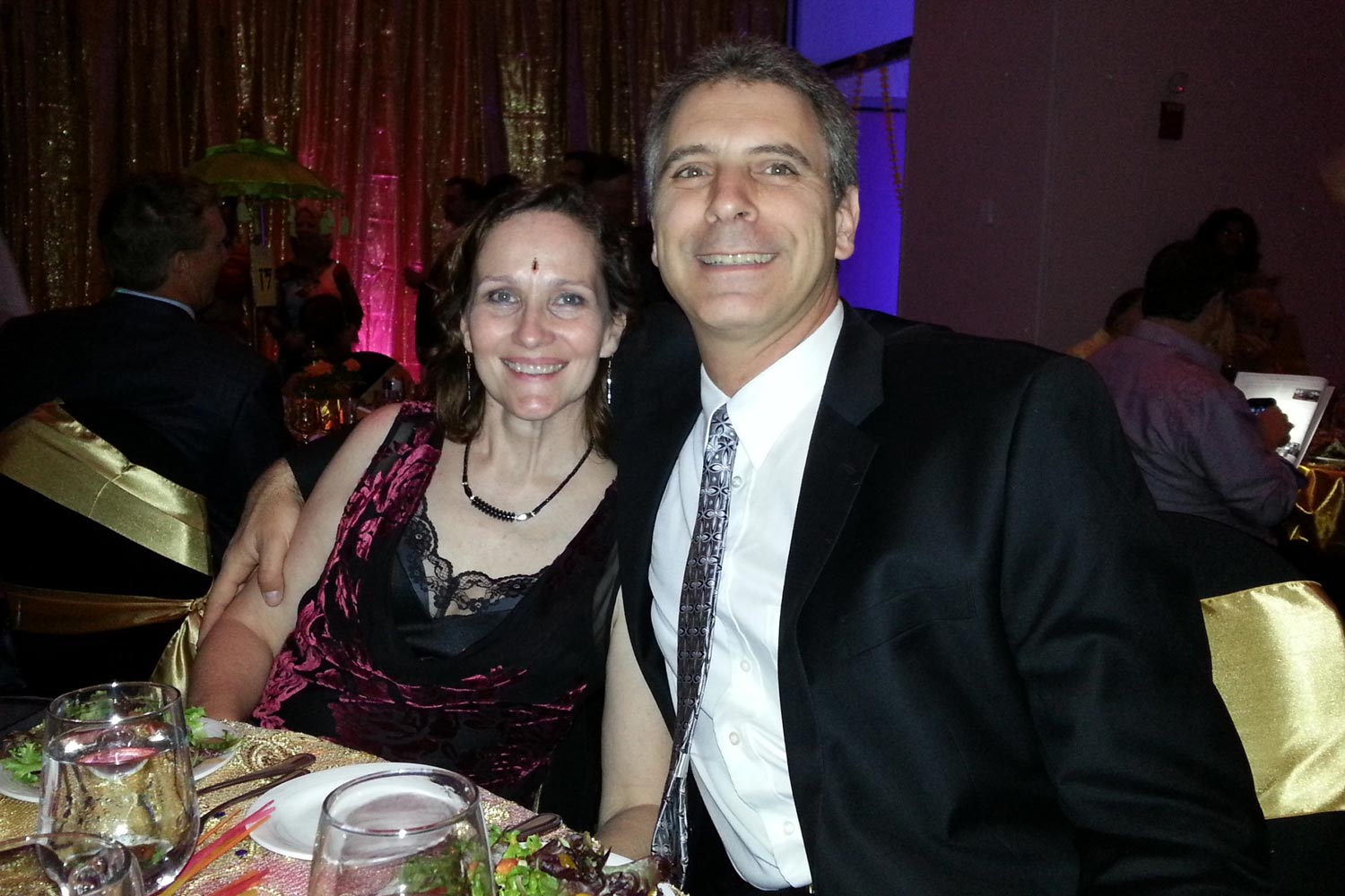Mary Ellen and Rob Isaacson met at UVA in 1986 and got married in 2001. (Contributed photo)