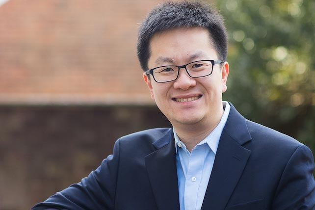 Chongzhi Zang using cutting-edge technologies and data science to study epigenetic in human diseases, primarily cancer. (Contributed photo)