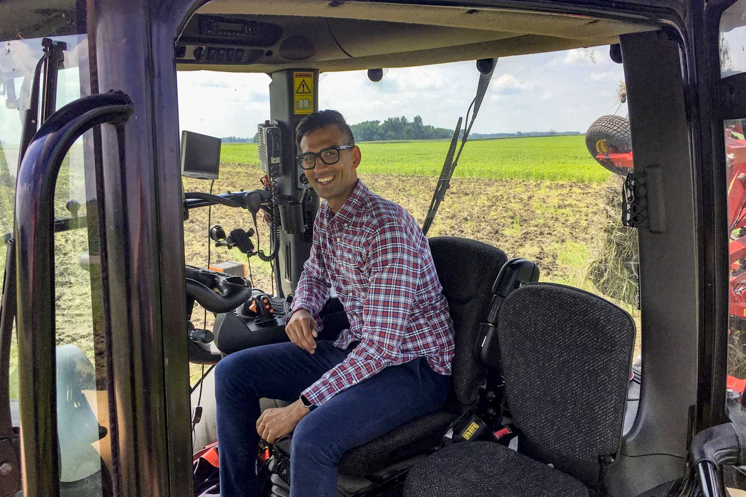 "Ali said universal broadband could help farmers take advantage of ""precision agriculture"" technology and increase their efficiency by upward of 10 percent."
