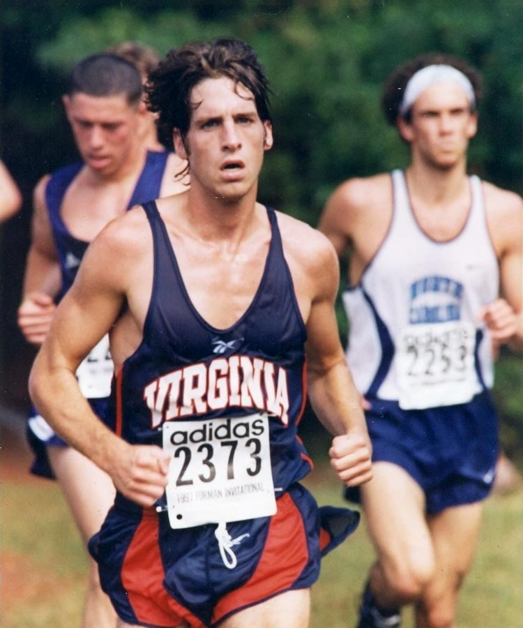 Chris Farley was a member of the UVA cross country and track teams from 1994-98.