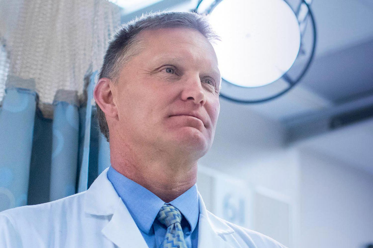 Dr. Christopher Holstege is medical director of the Blue Ridge Poison Center, director of the Elson Student Health Center and chief of UVA's Division of Medical Toxicology.