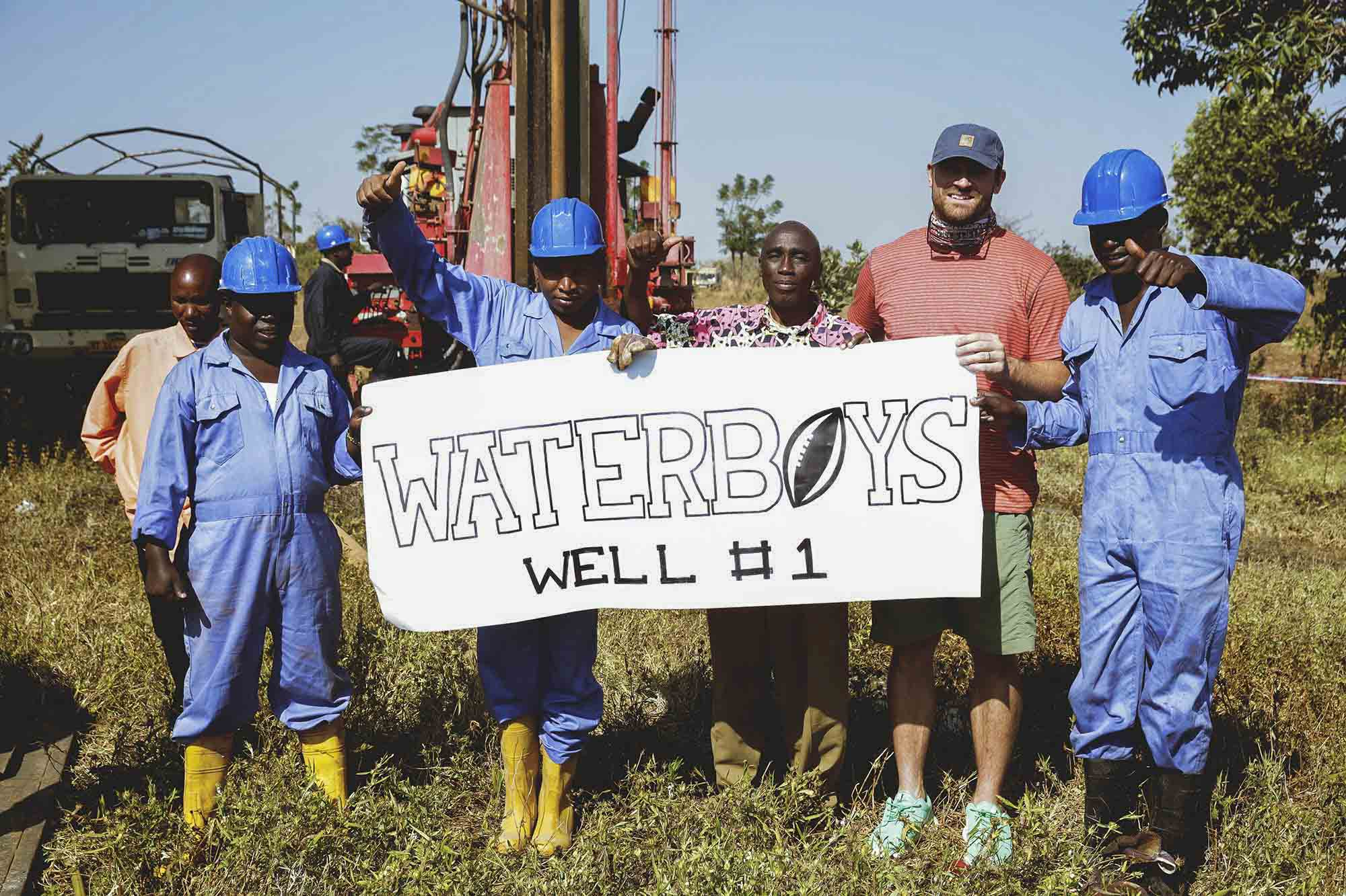 "Former UVA football star Chris Long founded ""Waterboys"" in 2015."