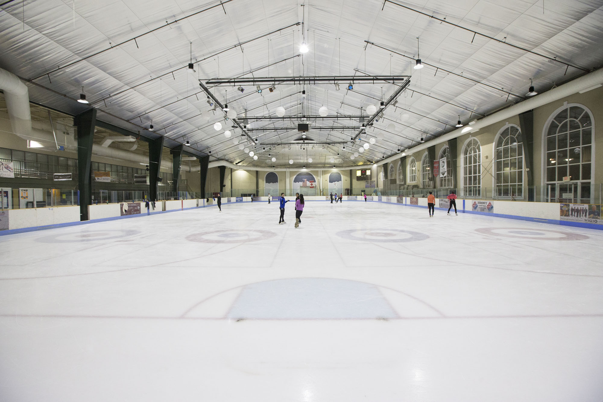 After competing in ice rinks across the United States and Canada, Christopher Ali and Lindsay Slater now call Charlottesville's Main Street Arena home.