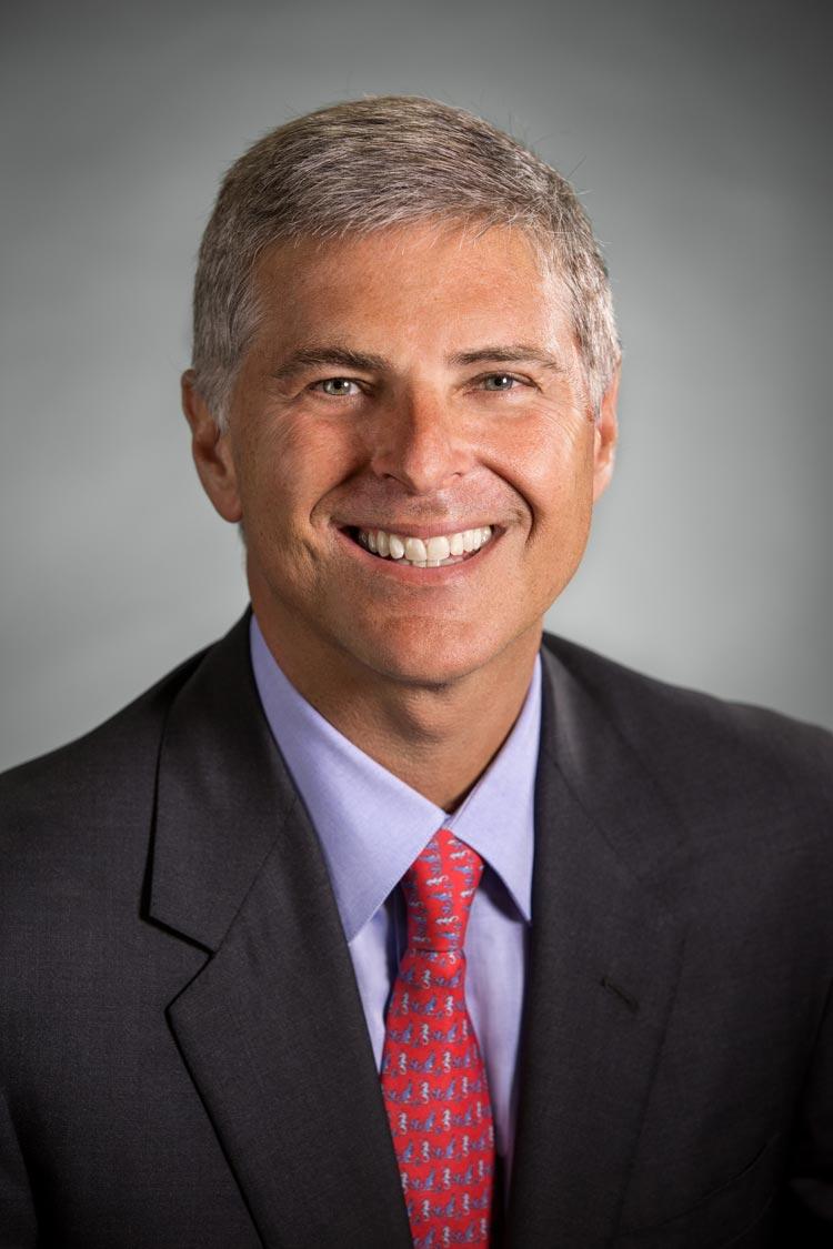 Alumnus Chris Nassetta has led Hilton for 10 years. (Photo courtesy of Hilton)