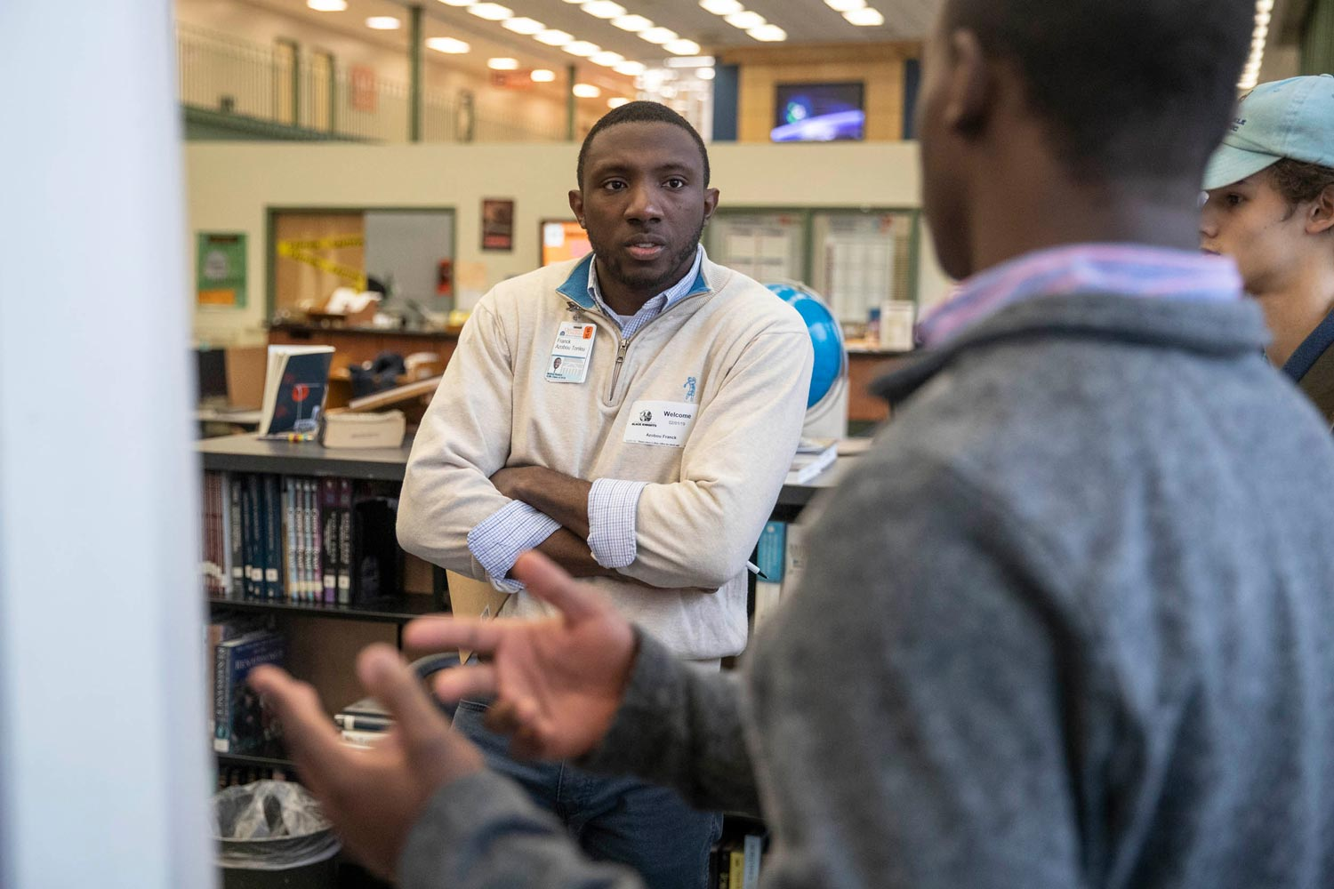 In many cases, Charlottesville High School students and their Health System mentors stay in touch well after the project has concluded.