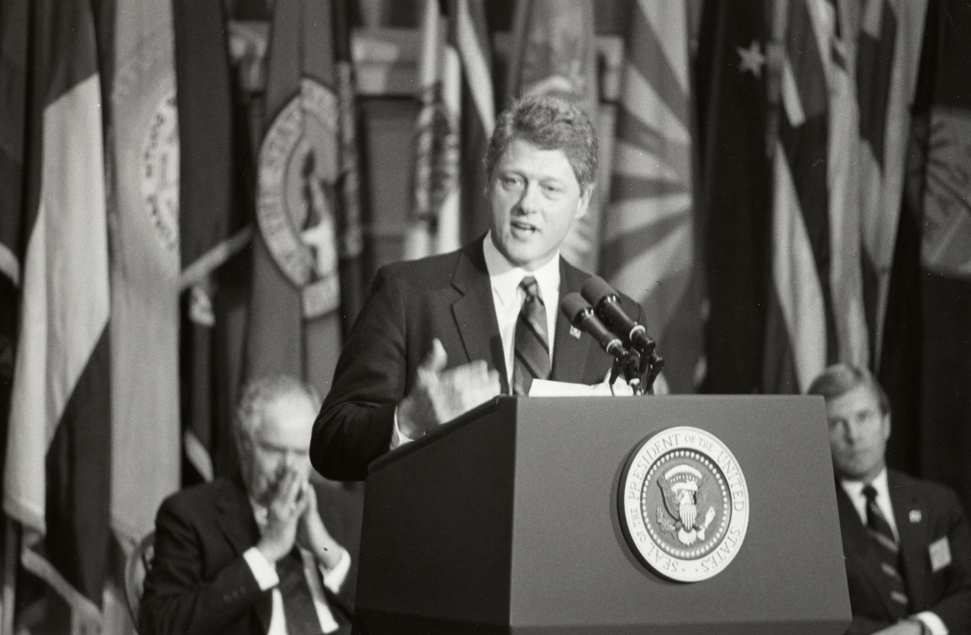 President Clinton at UVA