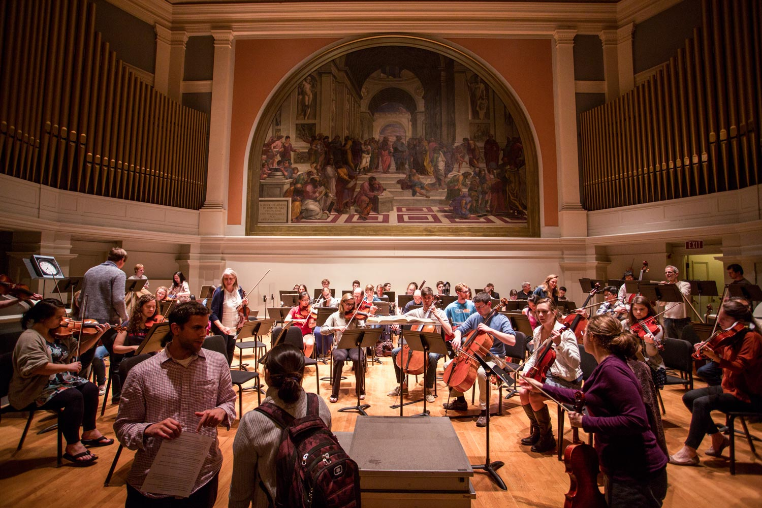 """Old Cabell Hall Auditorium is one of three state performance spaces to make the list of """"Best University Performing Arts Centers in the U.S."""""""