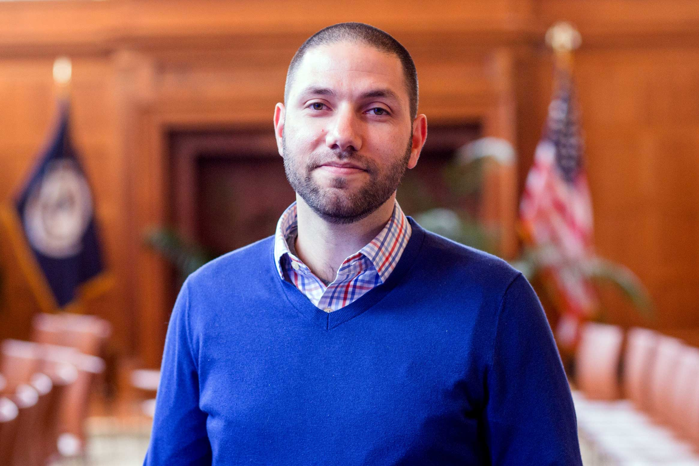 Benjamin Converse is an assistant professor of public policy and psychology in the Frank Batten School of Leadership and Public Policy and the Department of Psychology.
