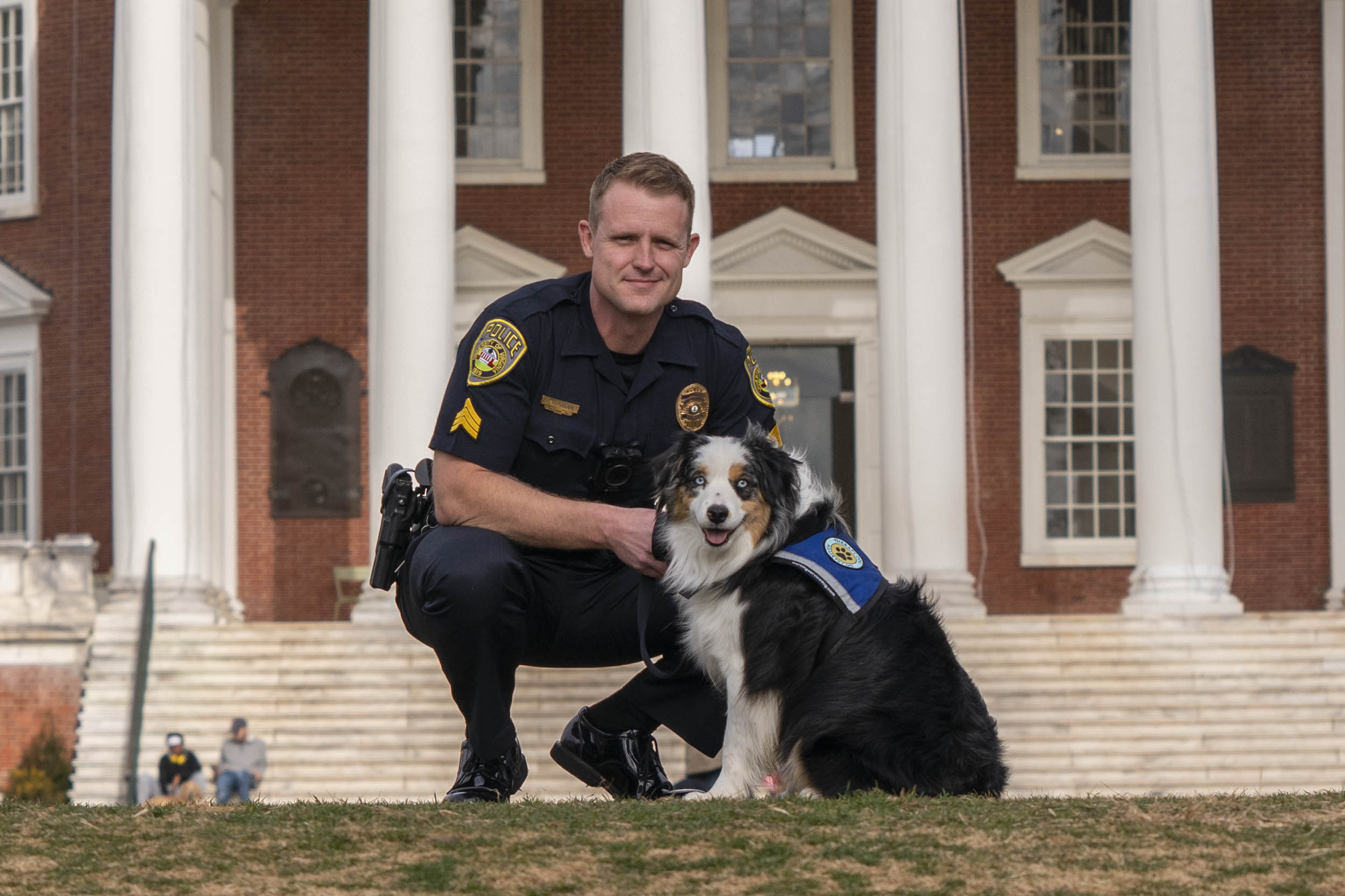 Sgt. Benjamin Rexrode purchased and paid for Cooper's training.