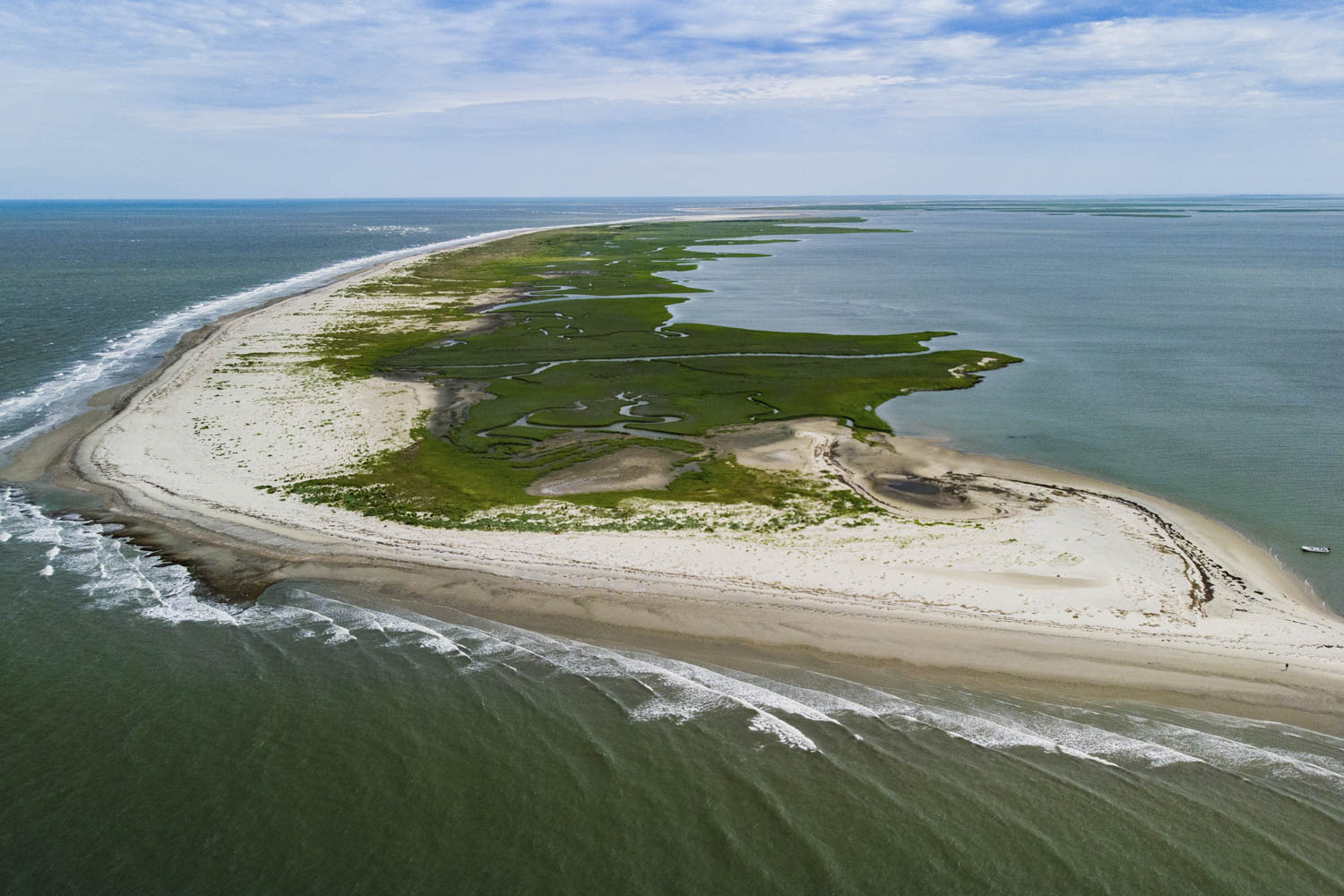 UVA researchers conduct long-term studies on the barrier islands and seaside bays of the Eastern Shore.