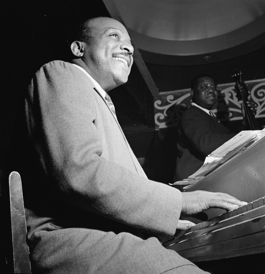 Portrait of Count Basie, Aquarium, New York, N.Y. Circa 1946-48. (The William P. Gottlieb collection at the Library of Congress)