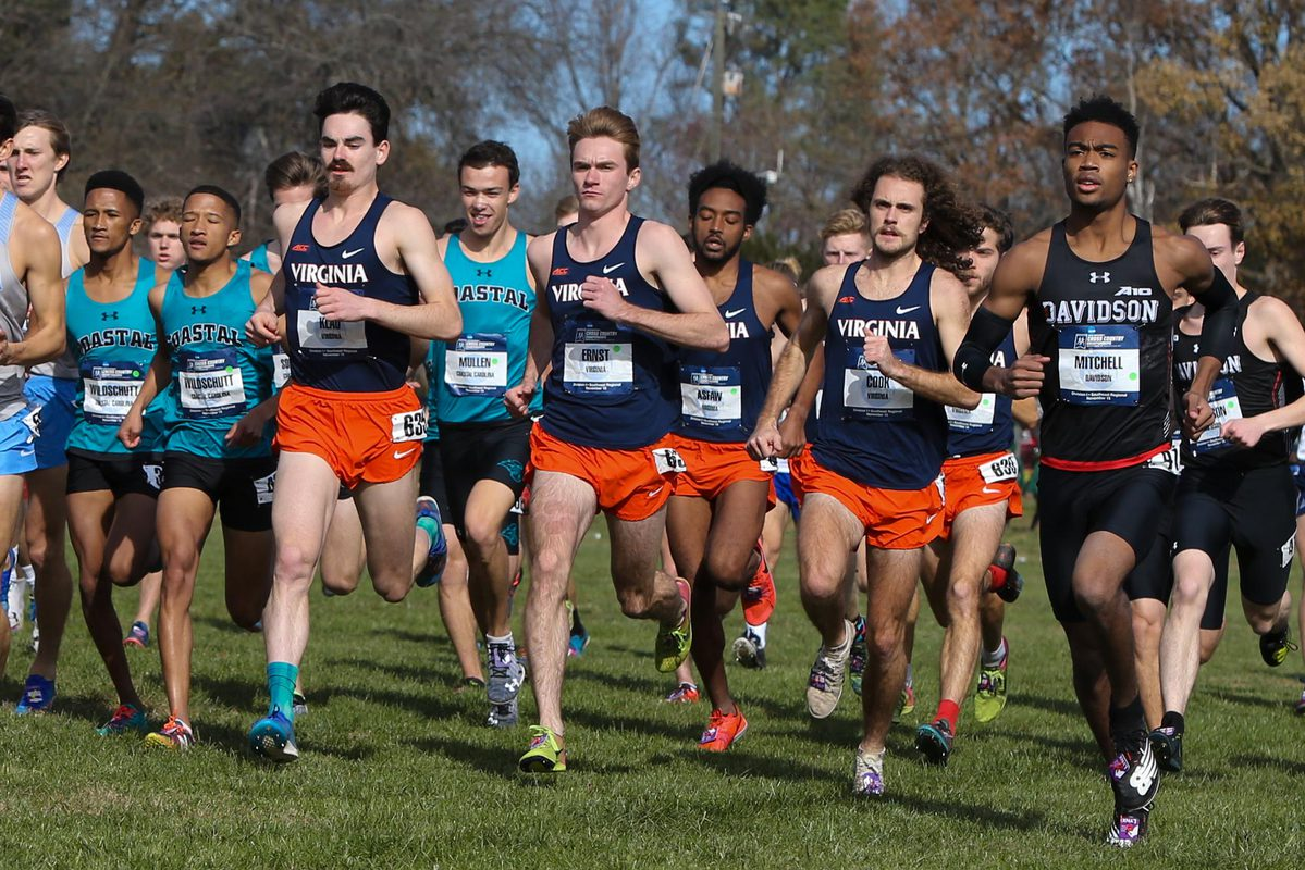 The Cavaliers won the men's title for the third time in program history.