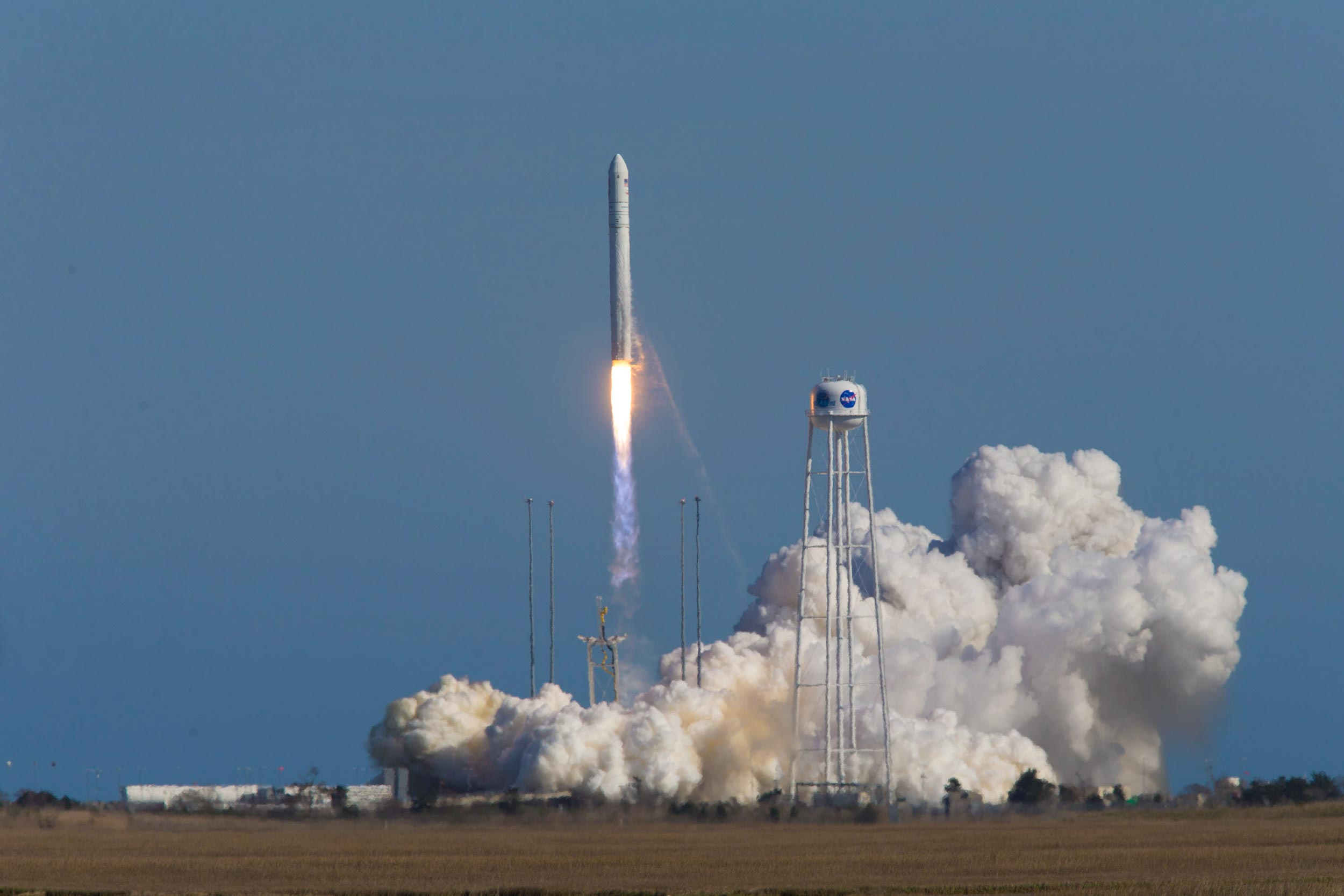 Student-built satellites were launched into space on April 17 from Wallops Flight Facility on Virginia's Eastern Shore.