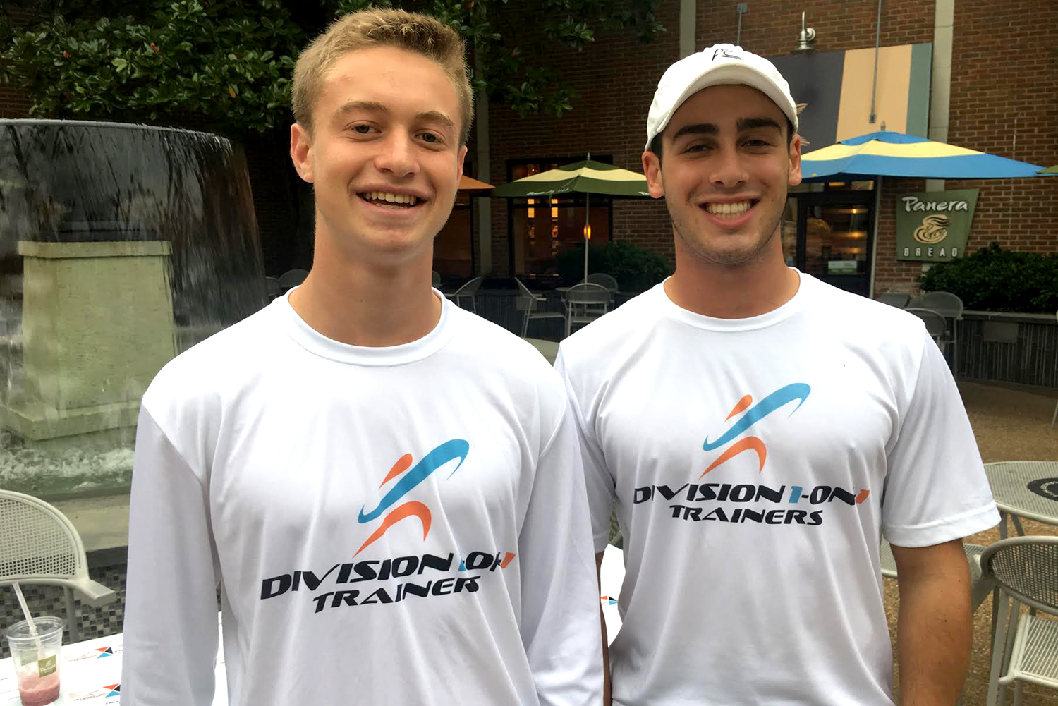 Division 1-on-1 Trainers, a company started by third-year UVA students Grant Sirlin and Jared Vishno, pairs UVA student-athletes with athletes in the Charlottesville community for personal training lessons. Typically, clients range in age from 8 to 18, with all skill levels welcome.