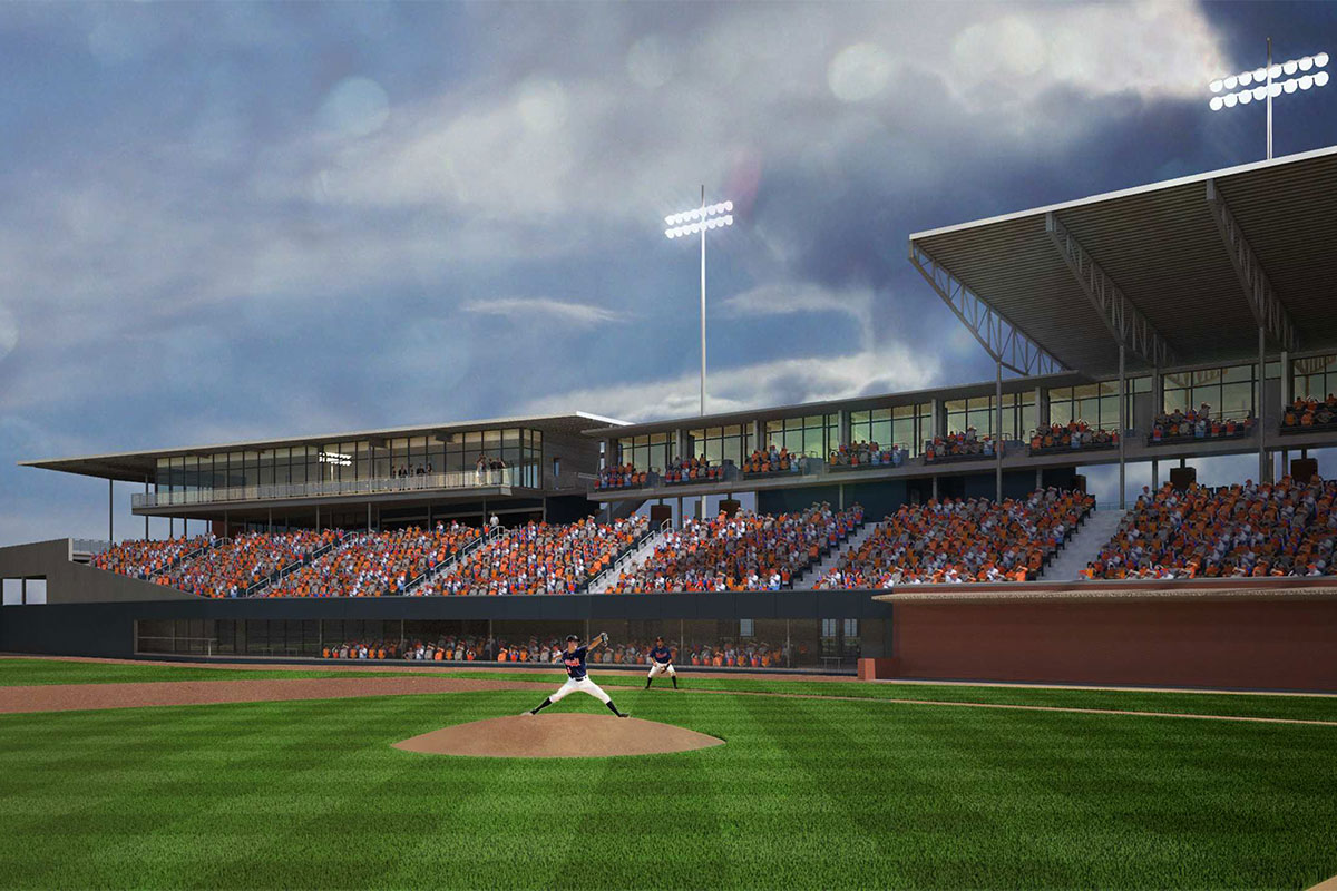 The proposed project may include replacing the current right-field bleachers with permanent seats, field-level boxes and suites.