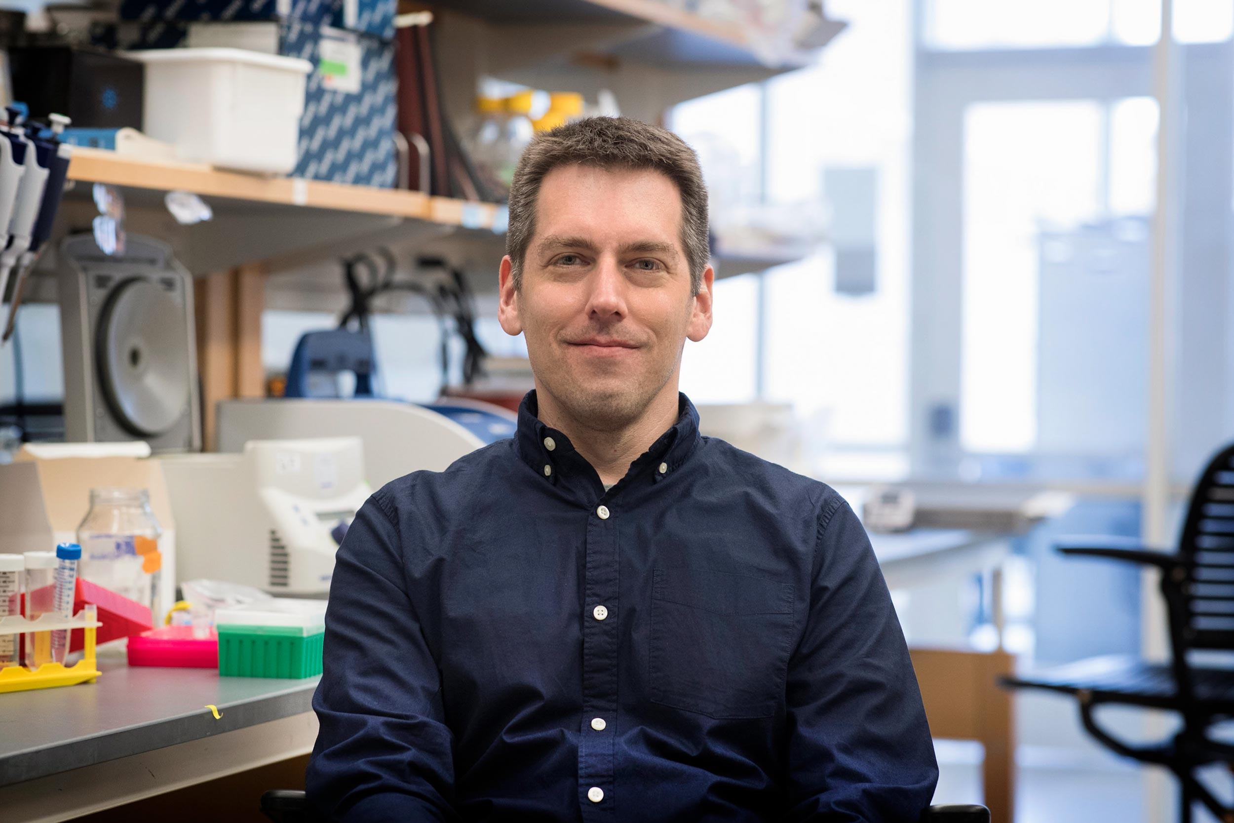 Study leader David Parichy, the Pratt-Ivy Foundation Distinguished Professor of Morphogenesis in UVA's Department of Biology.