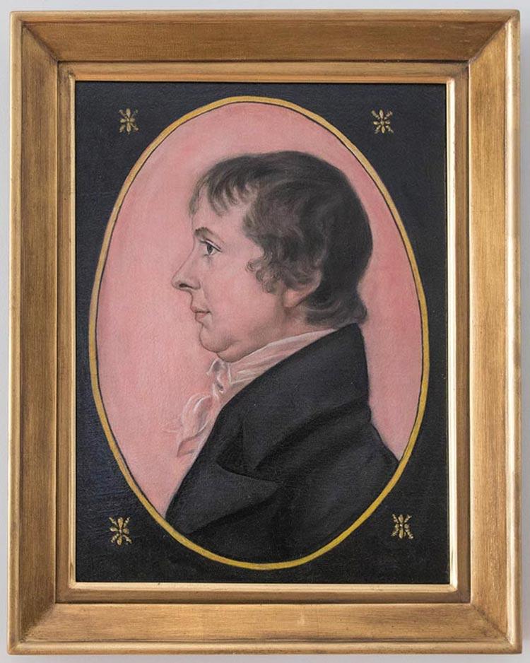Painting of David Watson